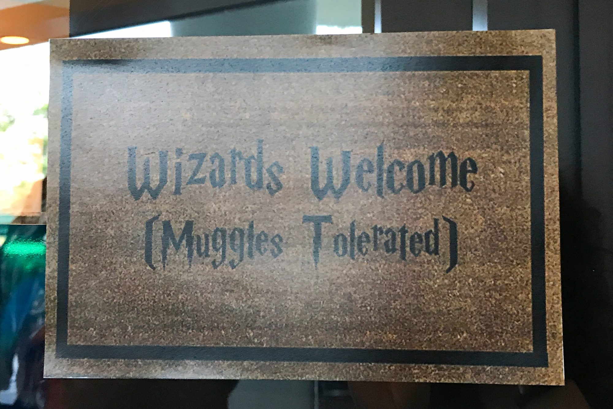 Wizards welcome!