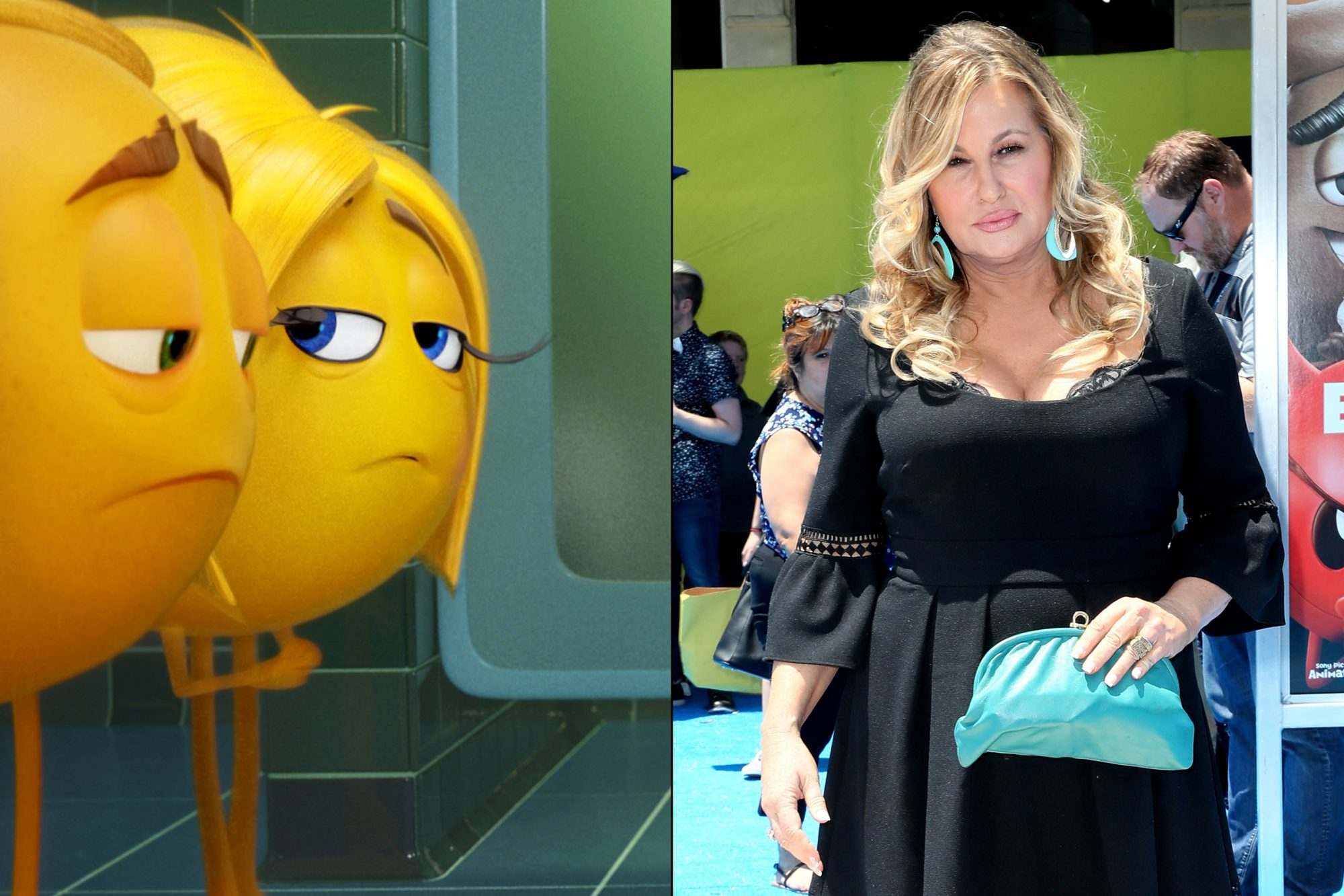 Jennifer Coolidge voices Mary Meh, Gene's emoji mother