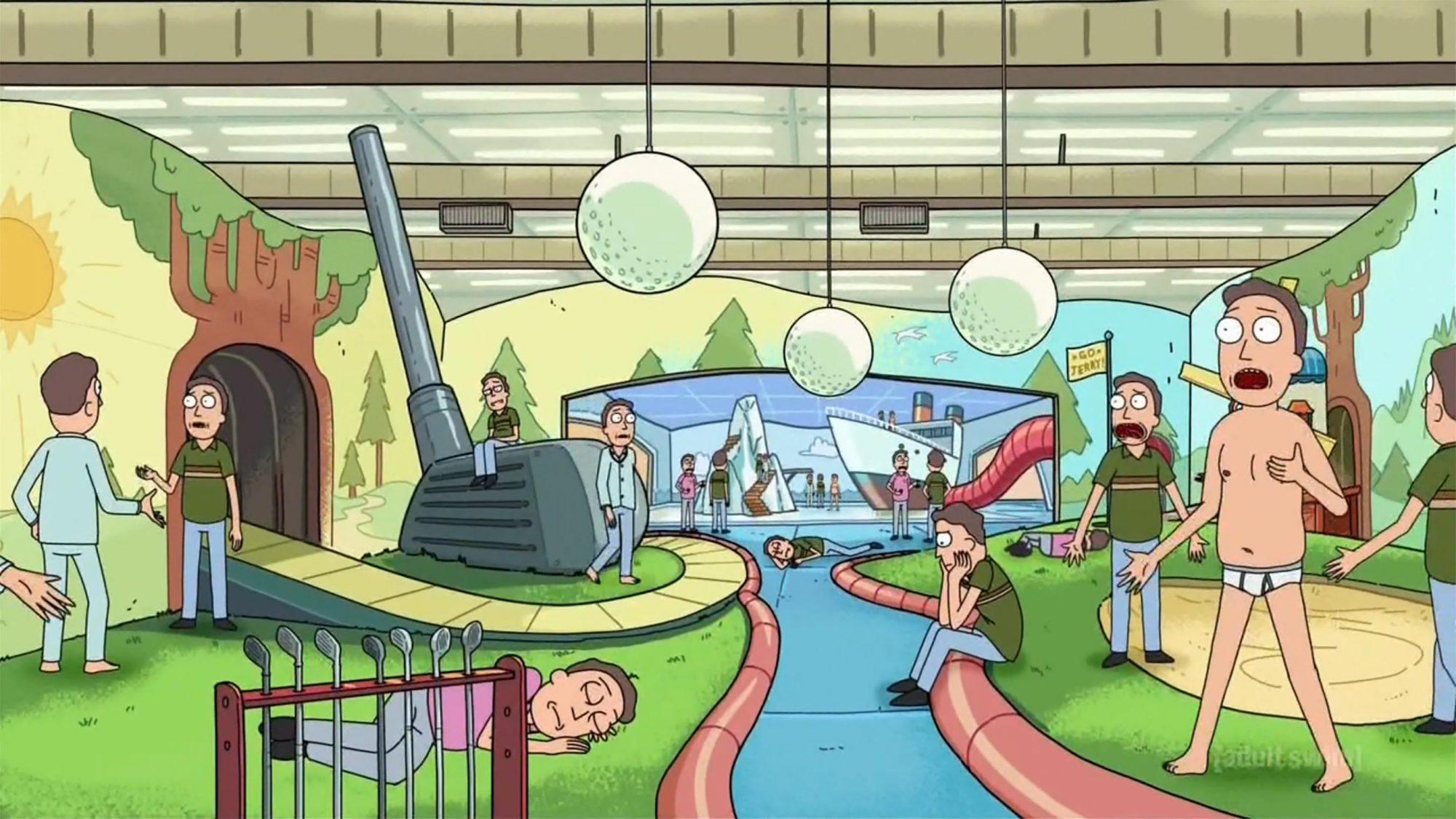 Ricky and Morty - Jerryboree (Season 2, Episode 2)