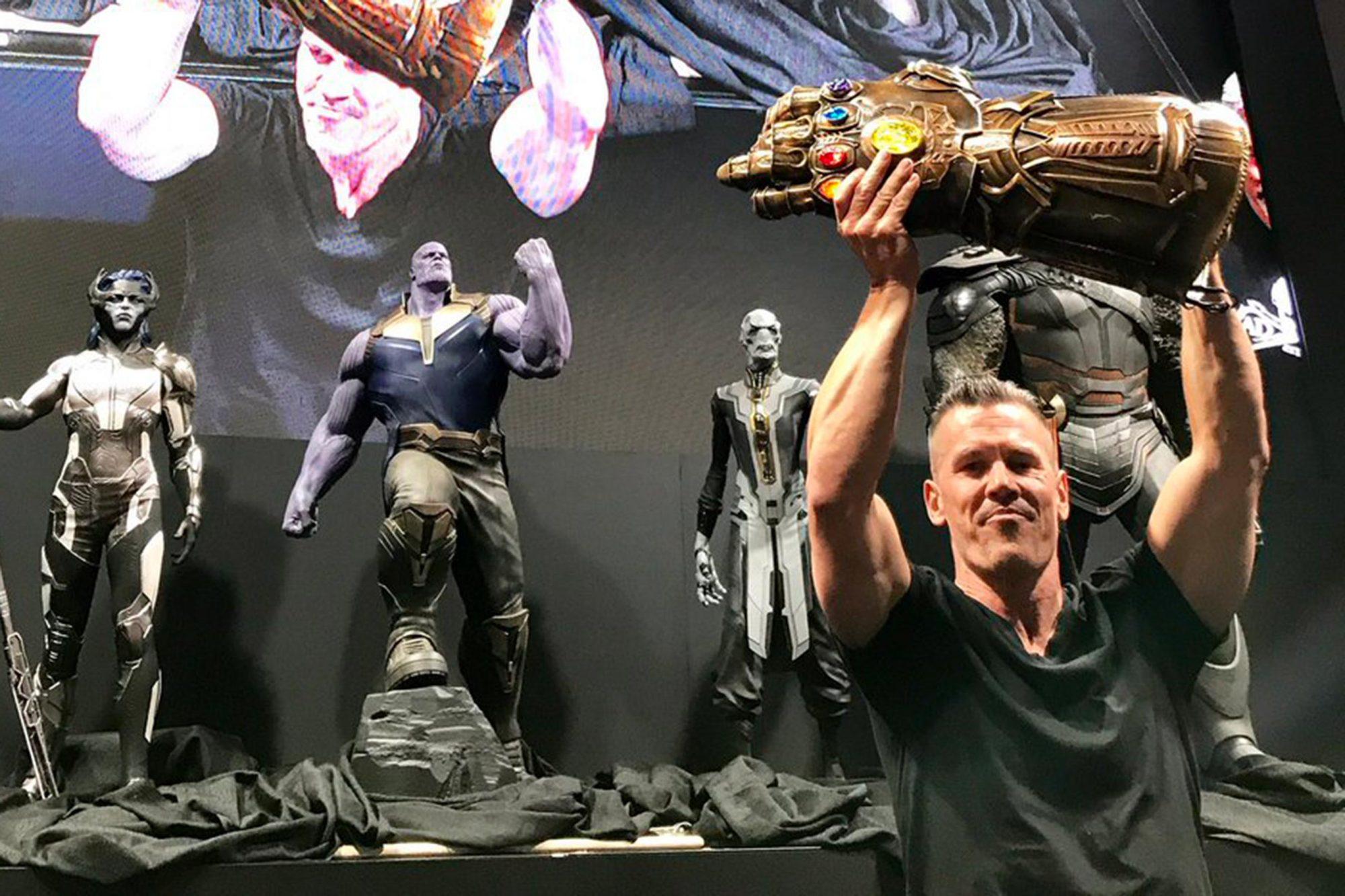 Josh Brolin Marvel Studios Twitter CR: Marvel Studios/Twitter