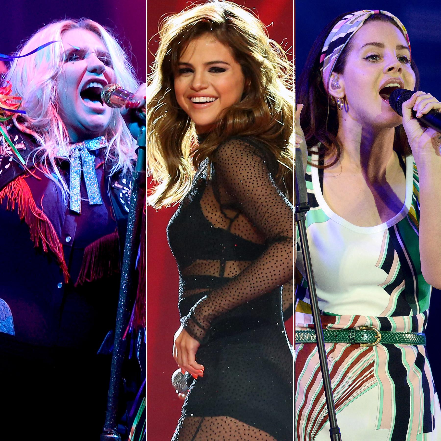 Kesha/ Selena Gomez/ Lana Del Rey