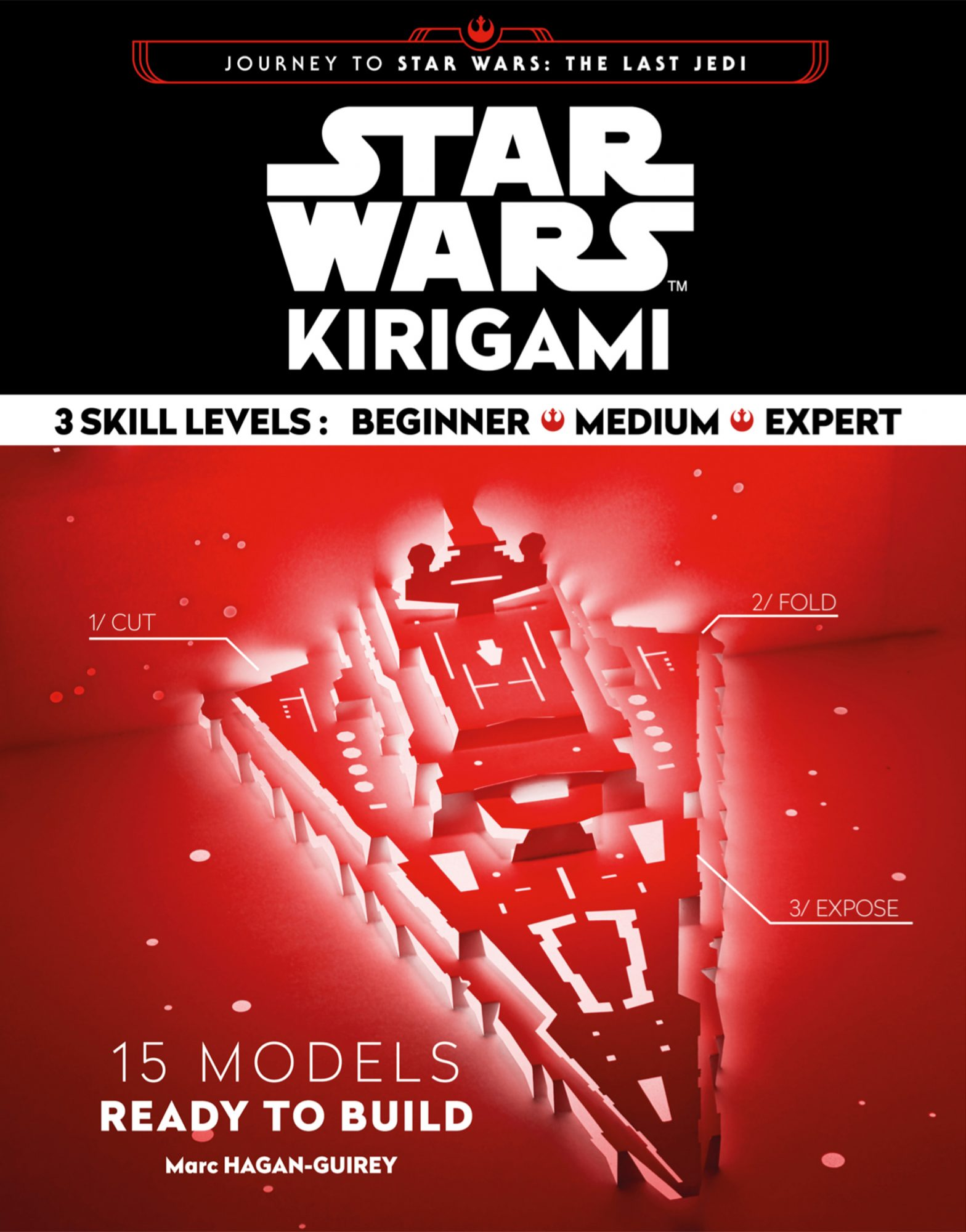 The Last Jedi: Kirigami: The Starships, by writer and artist Marc Jagan-Guirey
