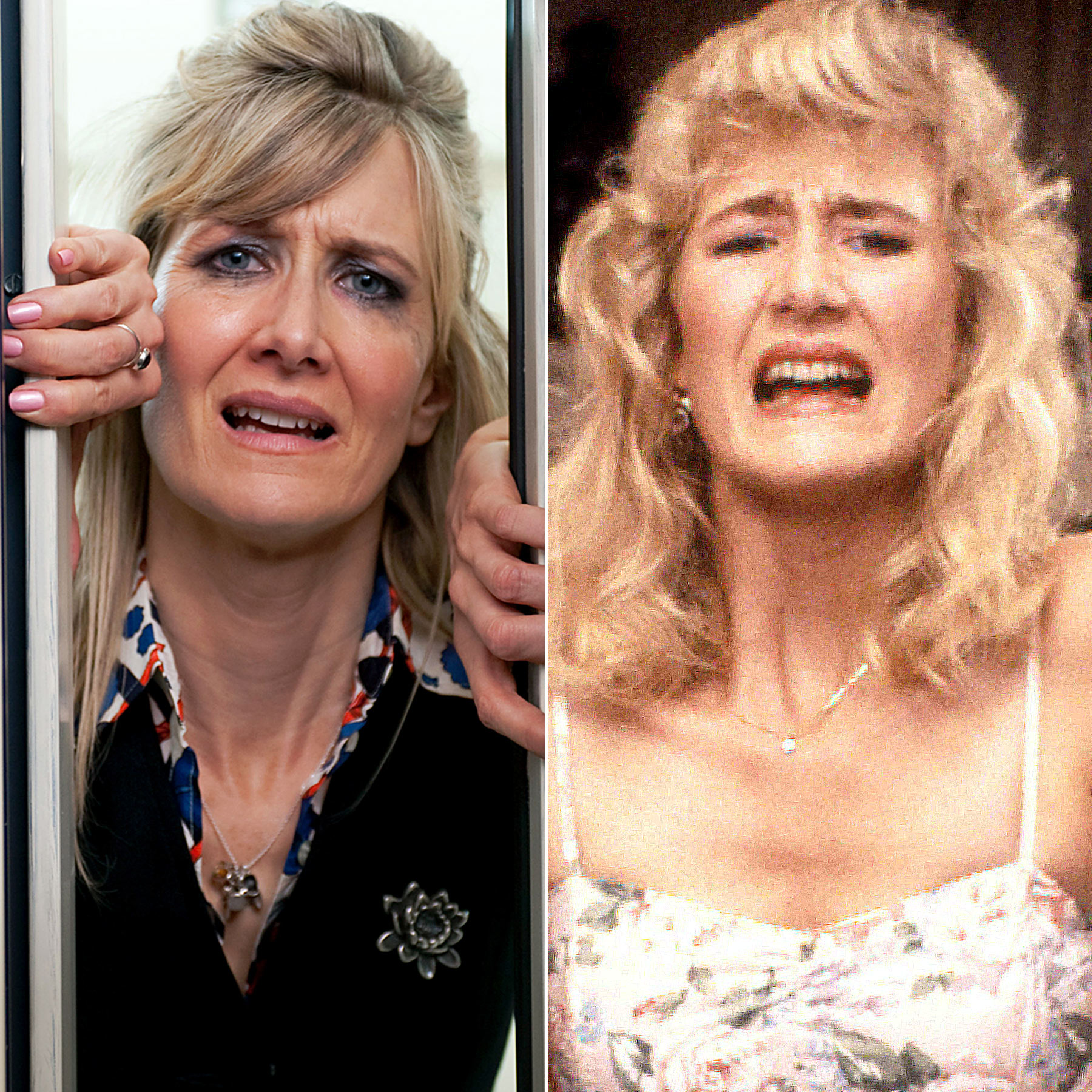 Laura Dern crying split: Enlightened & Twin Peaks