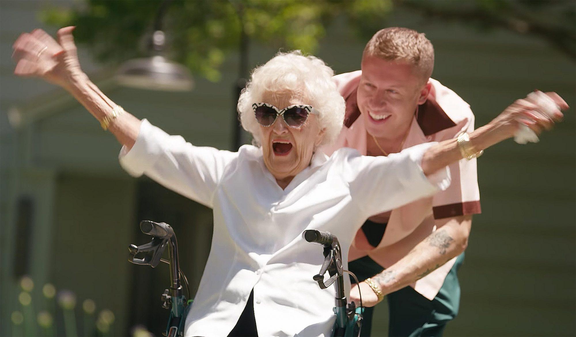 Macklemore and grandma