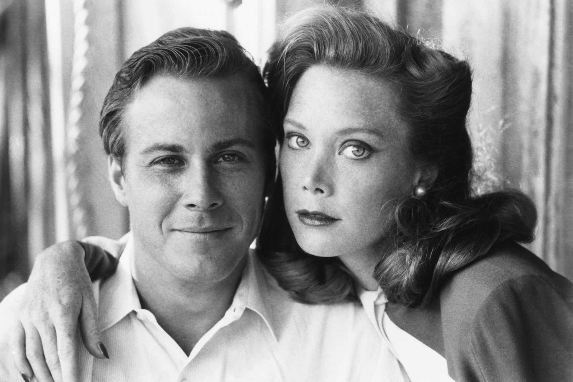 HEART BEAT, from left: John Heard as Jack Kerouac, Sissy Spacek, 1980, © Orion/courtesy Everett