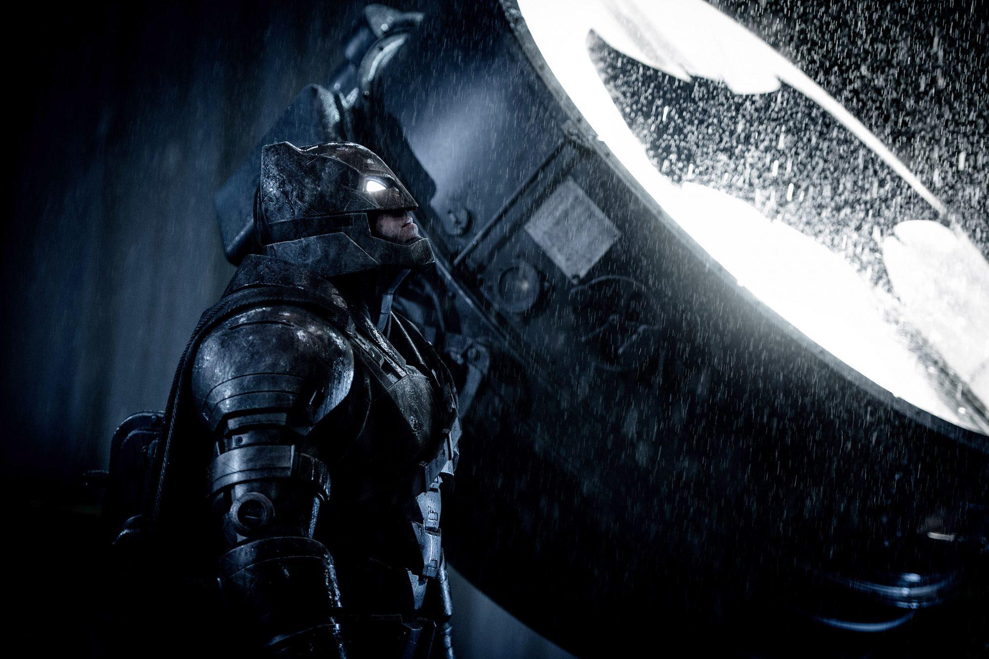BATMAN V SUPERMAN: DAWN OF JUSTICE, Ben Affleck as Batman, 2016. ph: Clay Enos /© Warner Bros. /
