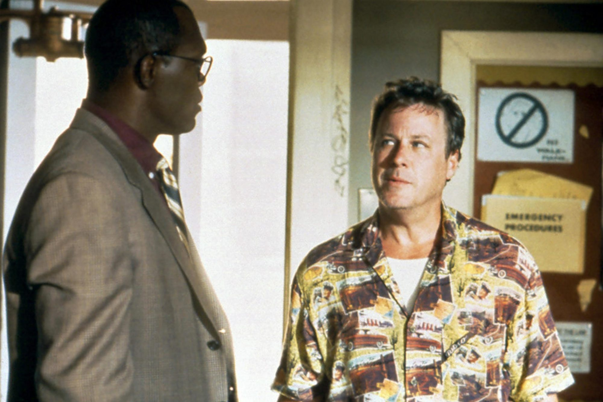 187, from left: Samuel L. Jackson, John Heard, 1997. ©Warner Bros/courtesy Everett Collection