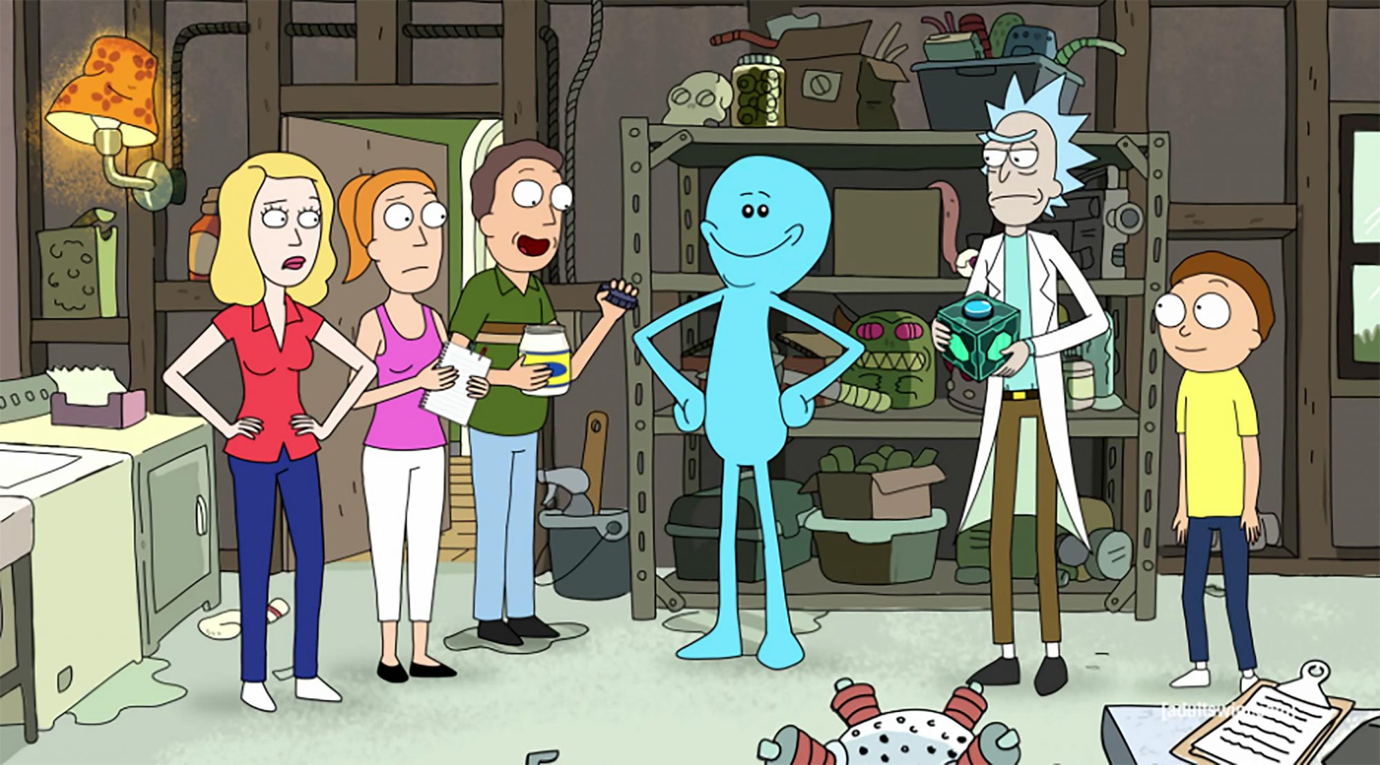 Ricky and Morty - Mr. Meeseeks (Season 1, Episode 5)
