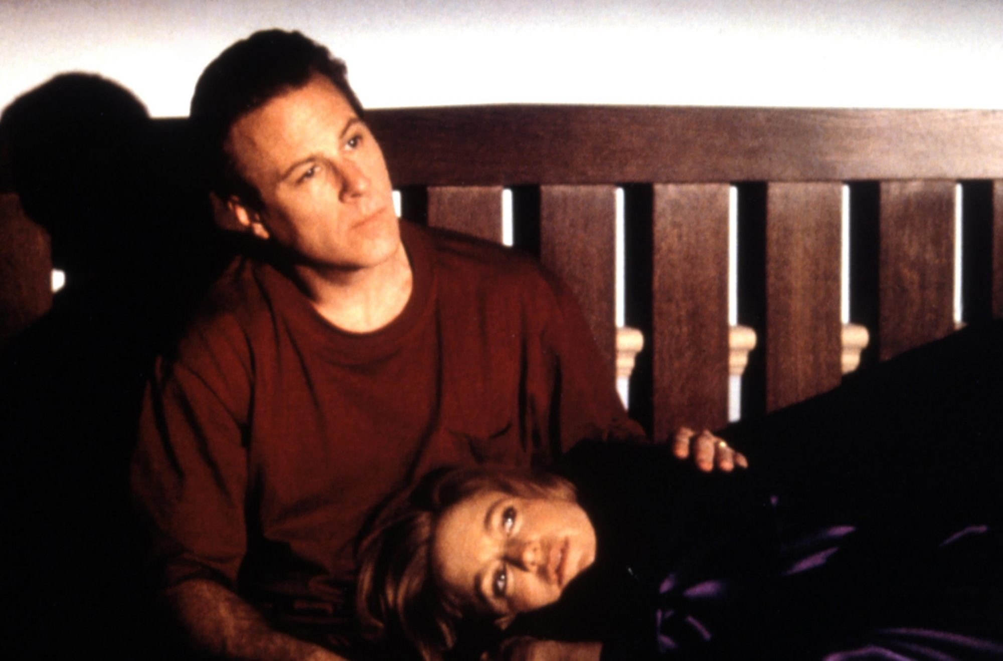 John Heard (with Goldie Hawn) in 1991's Deceived