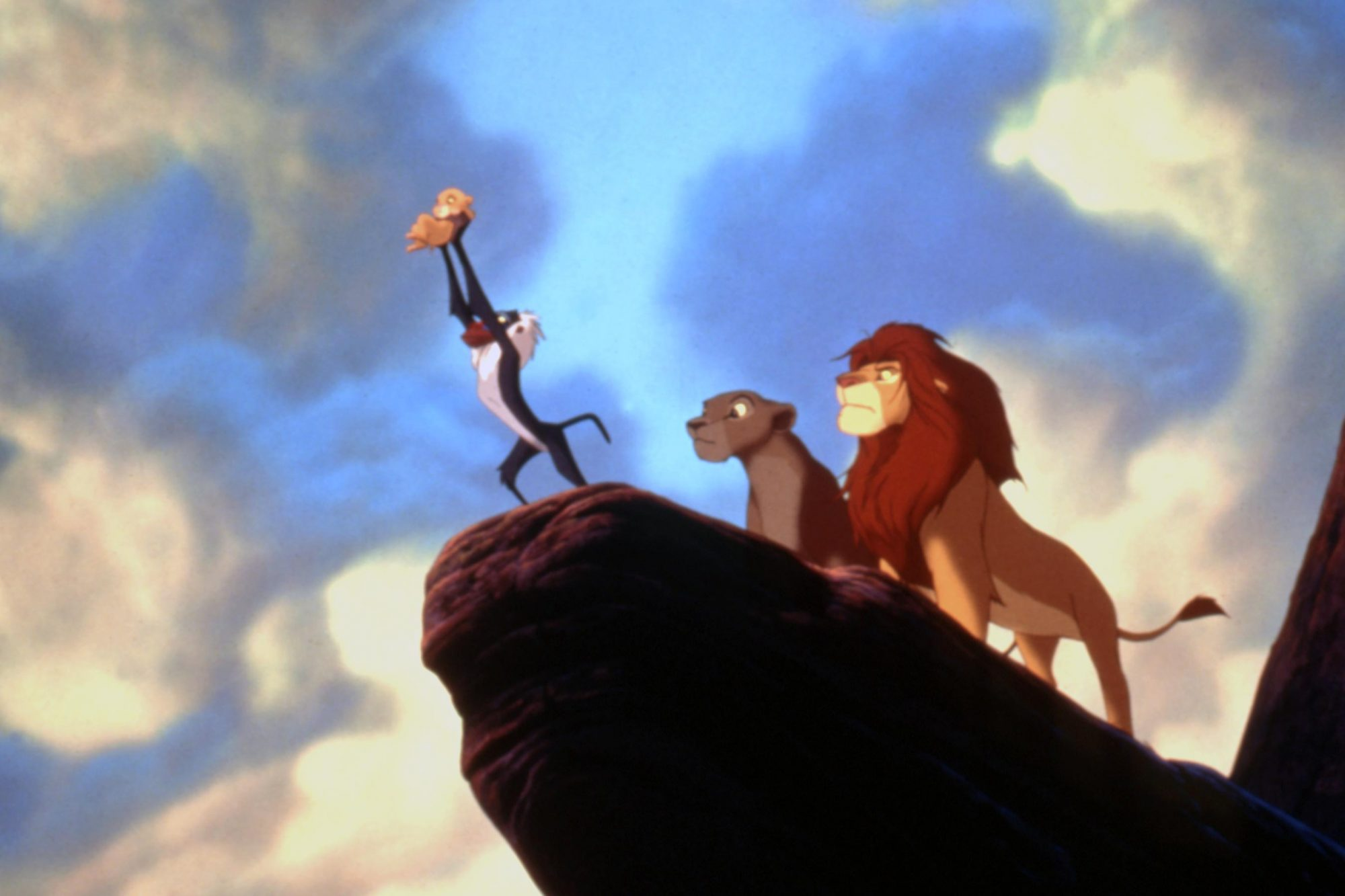 THE LION KING, Simba, Rafiki, Sarabi, Mufasa, 1994, (c)Buena Vista Pictures/courtesy Everett Collect