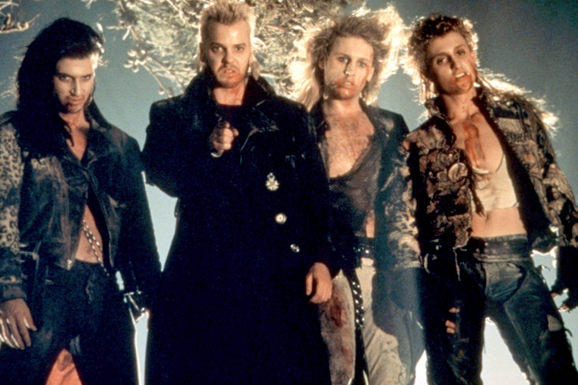 THE LOST BOYS, Billy Wirth, Kiefer Sutherland, Brooke McCarter, Alex Winter, 1987. ©Warner Bros./cou