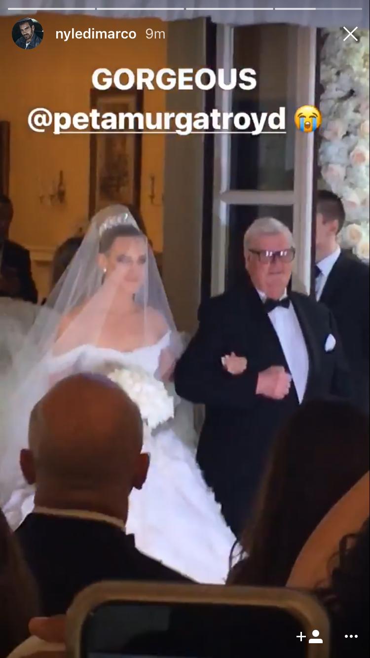 Peta Murgatroyd and Maksim Chmerkovskiy's wedding