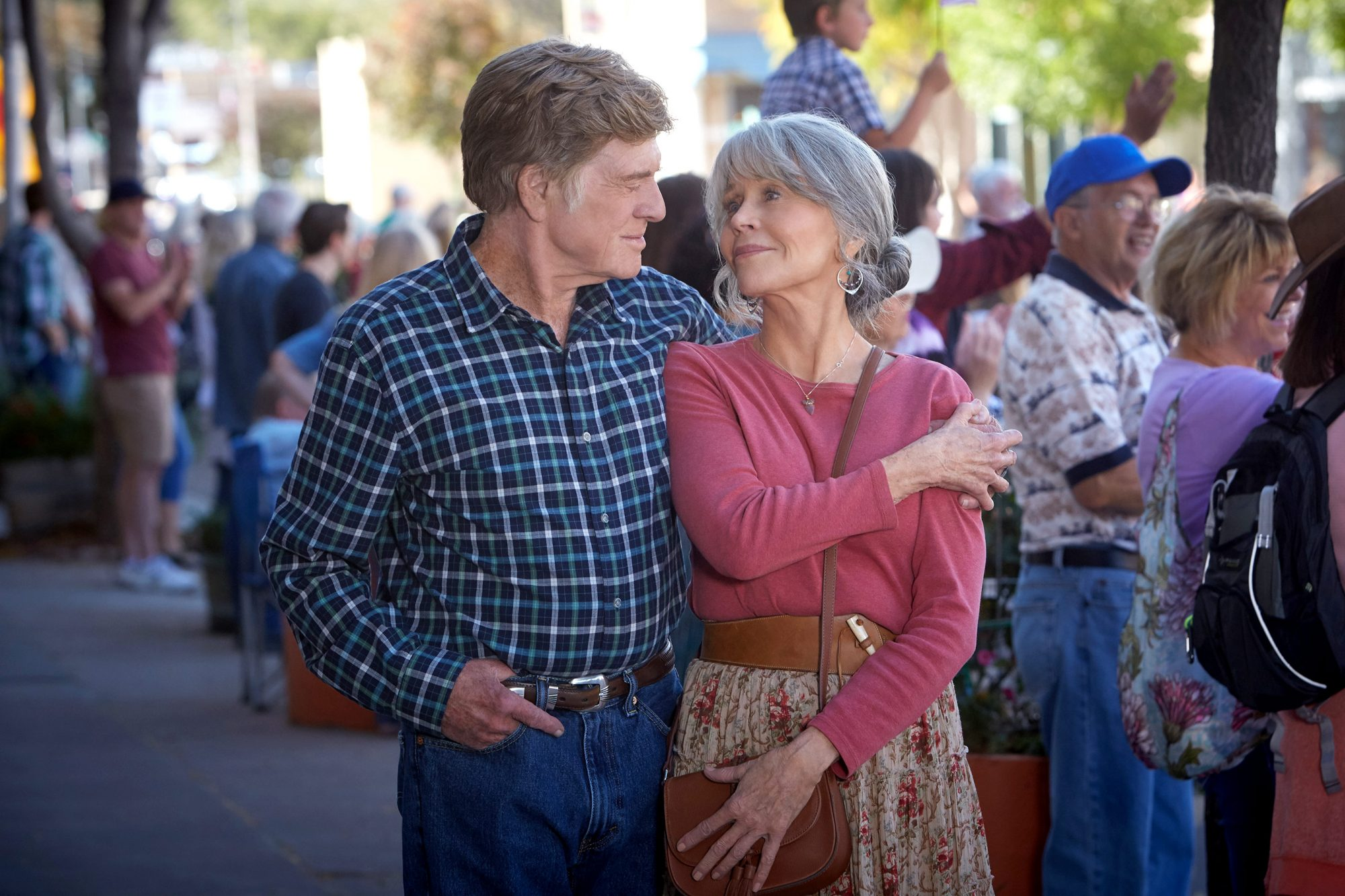 Jane Fonda and Robert Redford