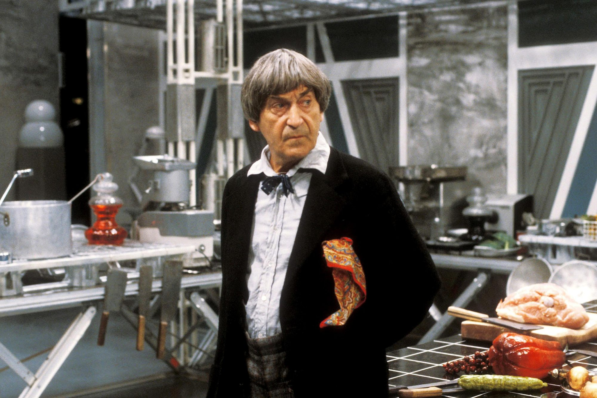 DOCTOR WHO, Patrick Troughton, 'The Two Doctors', (Season 22, aired Feb. 16, 23 & March 2, 1985),