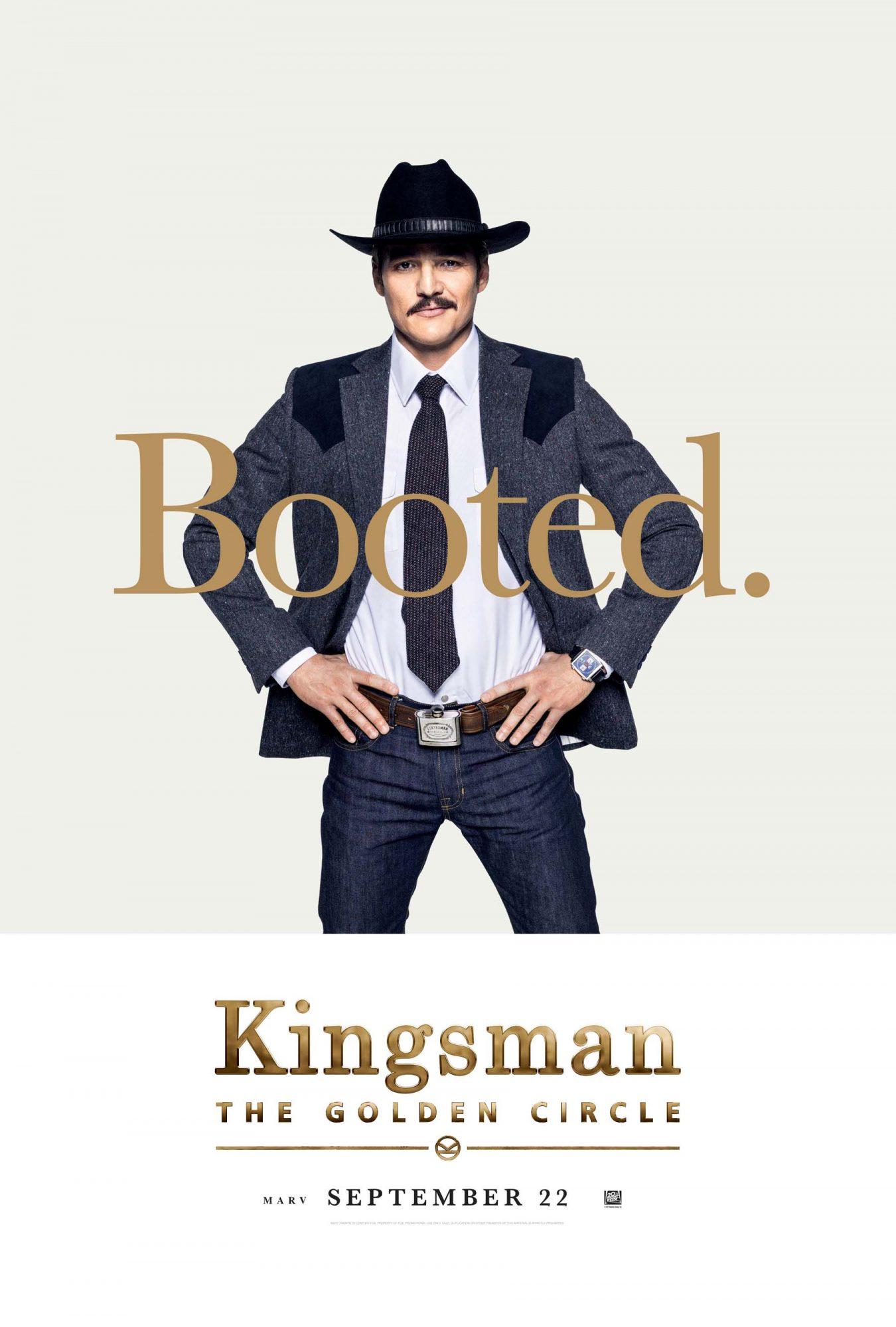Kingsman The Golden Circle Character Poster