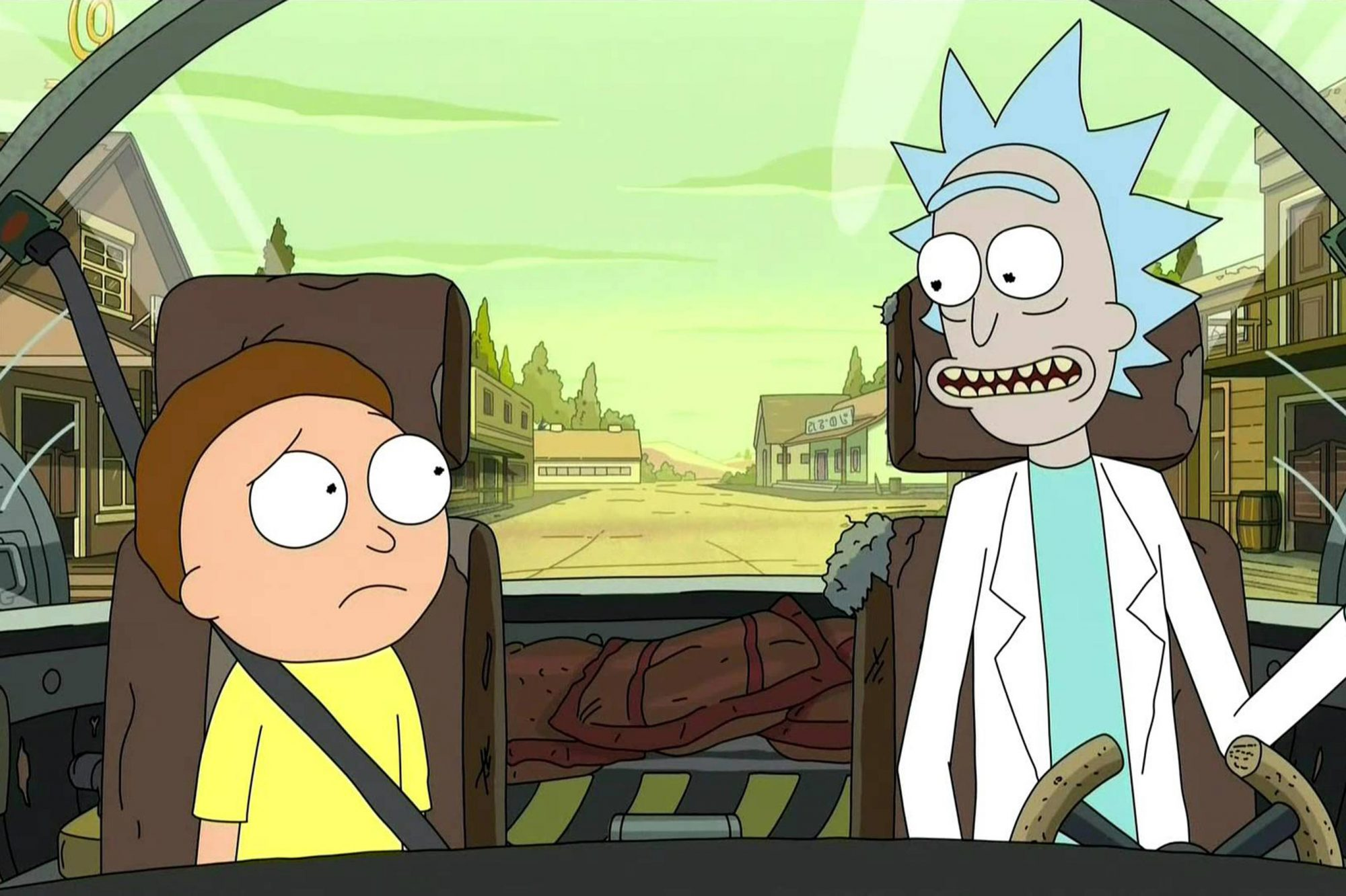 Ricky and Morty (screen grab) CR: Adult Swim