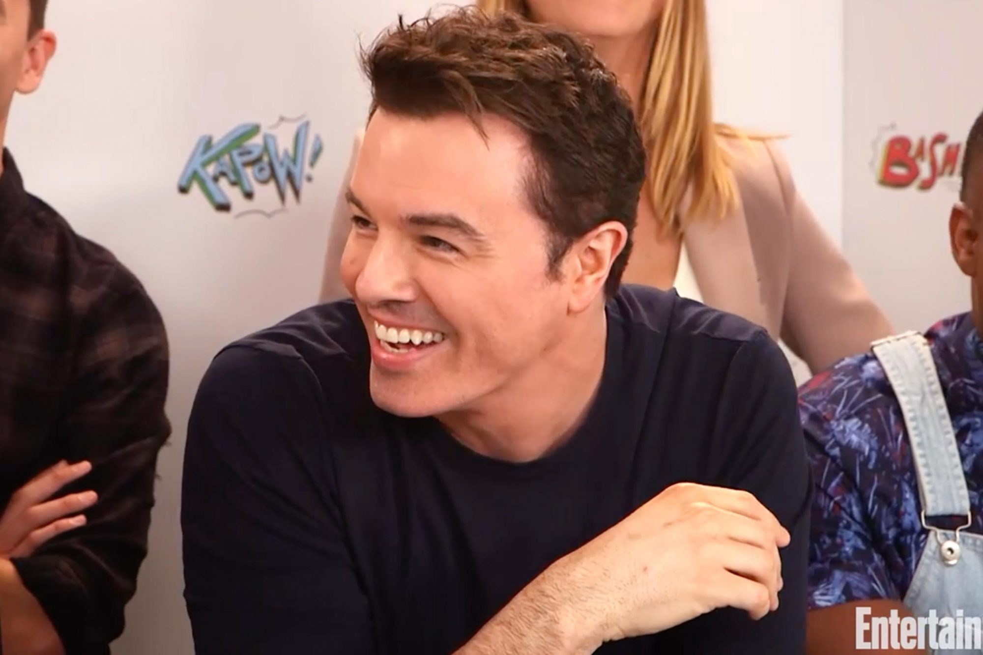 SDCC The Orville Interview -- Pictured: Seth MacFarlane (screen grab) CR: EW