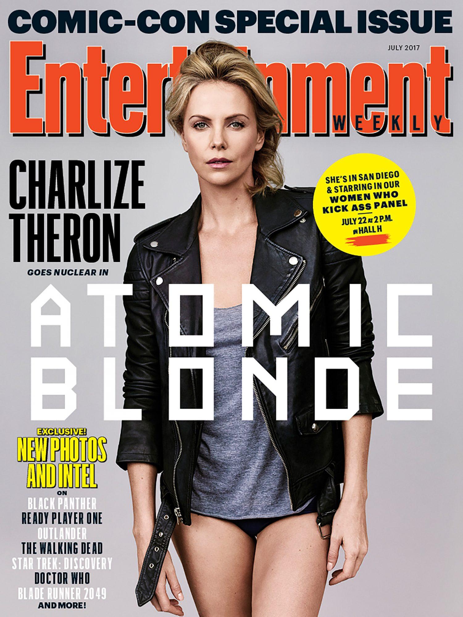 Charlize Theron Atomic Blonde EW 2017