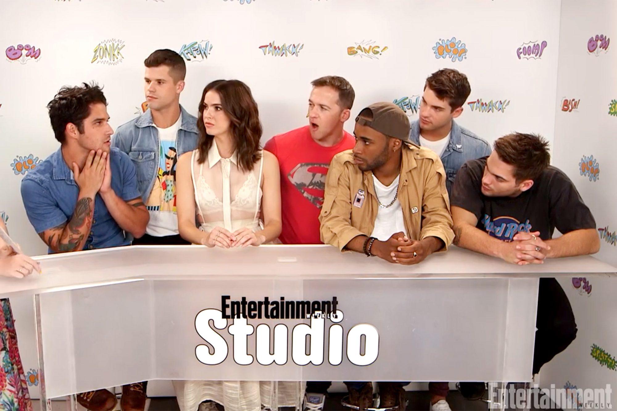 Teen Wolf at EW Comic-Con Studio