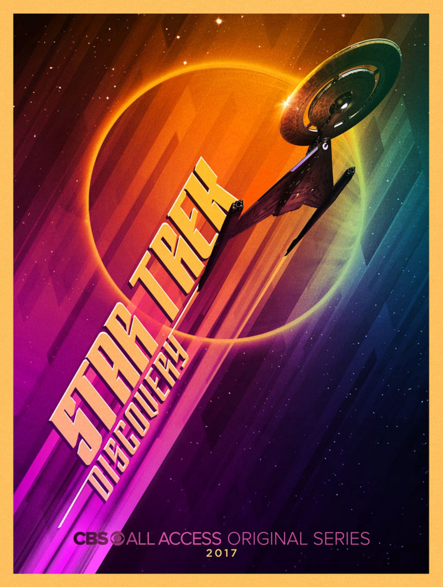 Ahead, four new Star Trek: Discovery posters