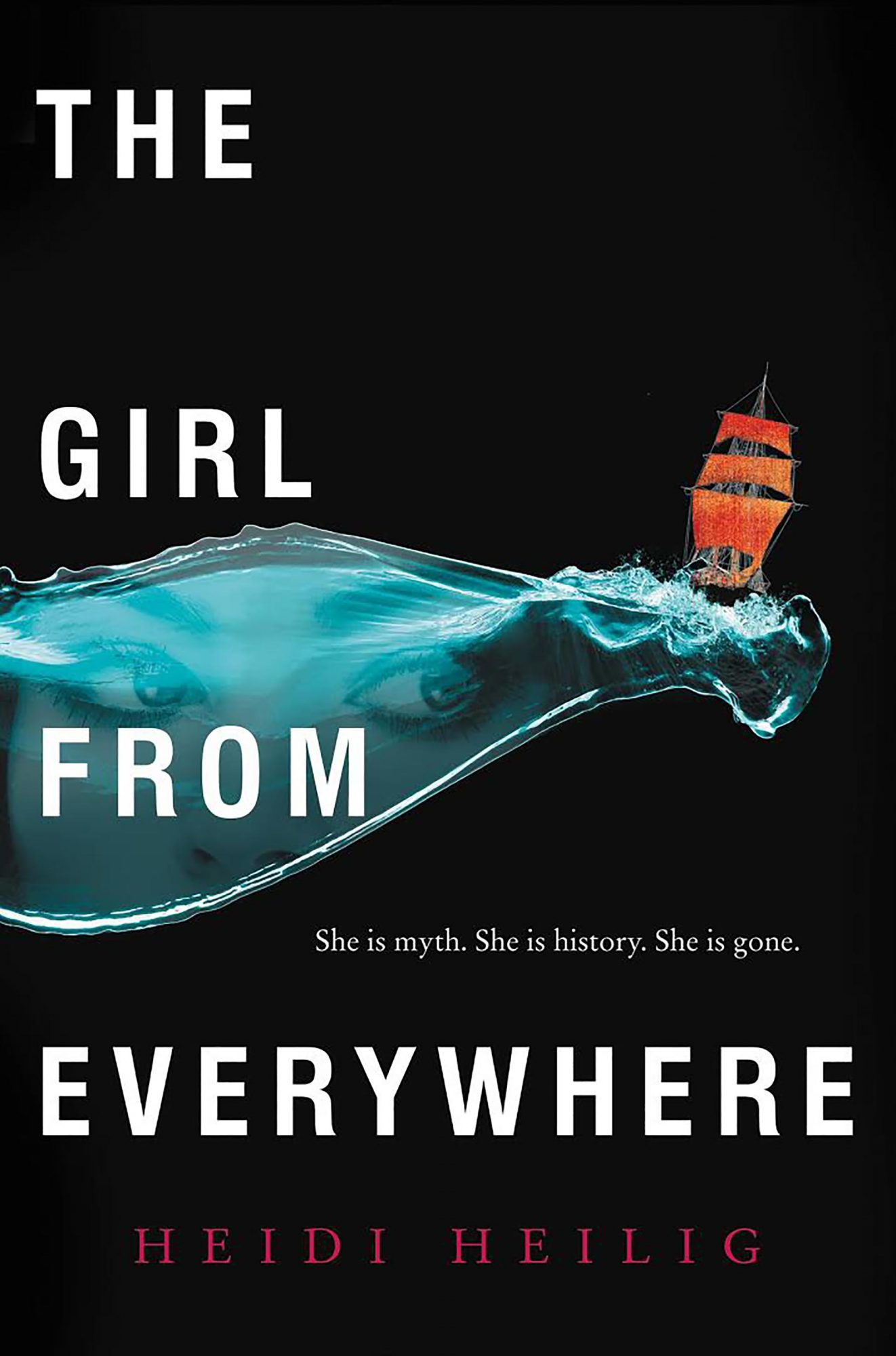 The Girl From Everywhere by Heidi Heilig CR: HarperCollins