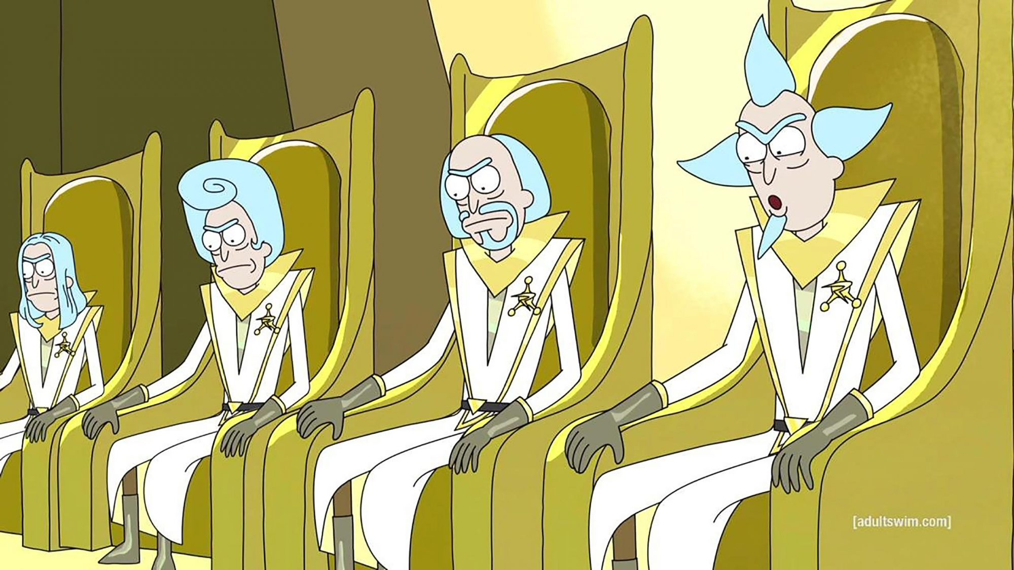 Ricky and Morty - Trans Dimensional Council of Ricks (Season 1, Episode 10)
