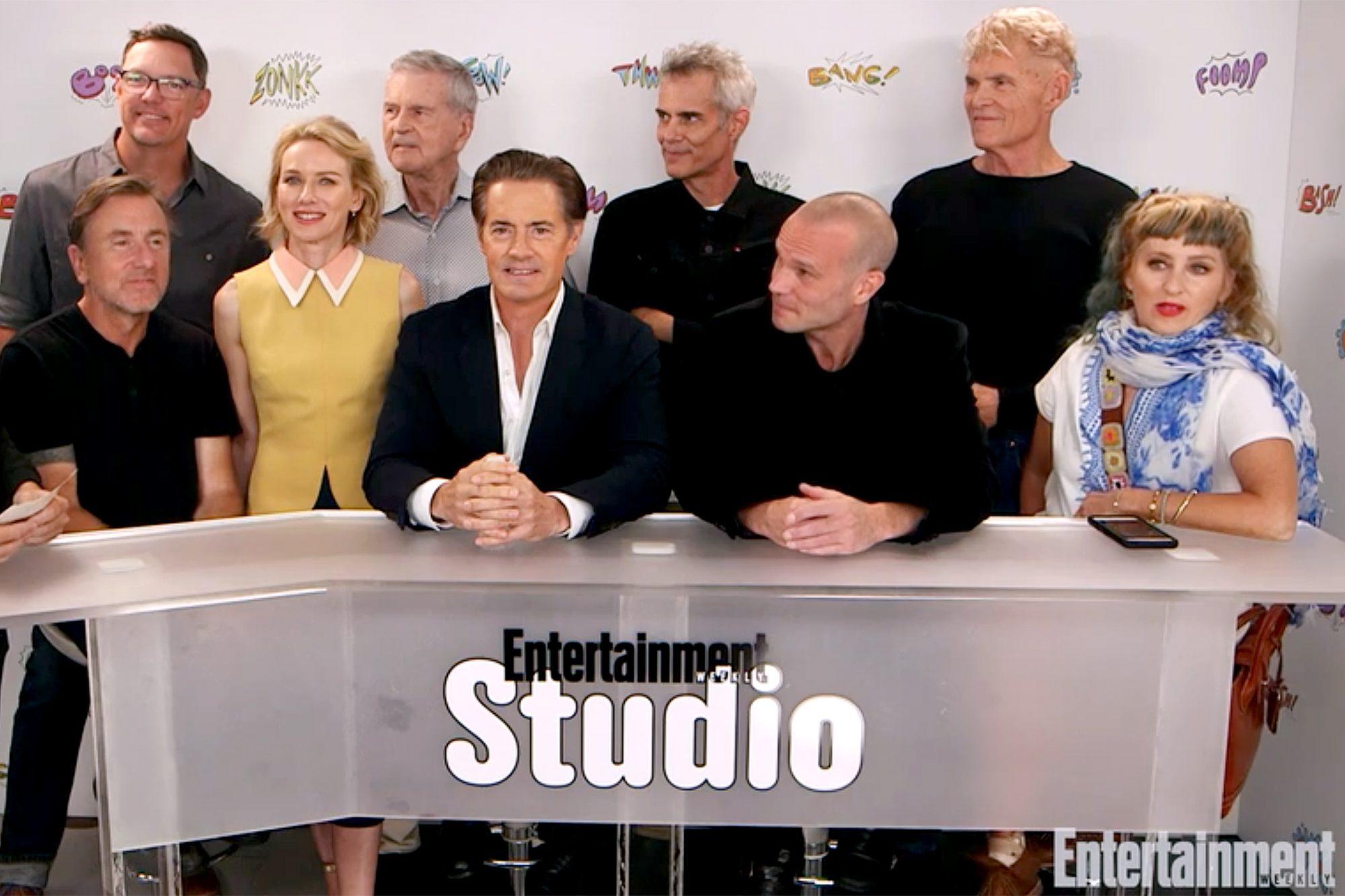 Twin Peaks at EW Comic-Con Studio