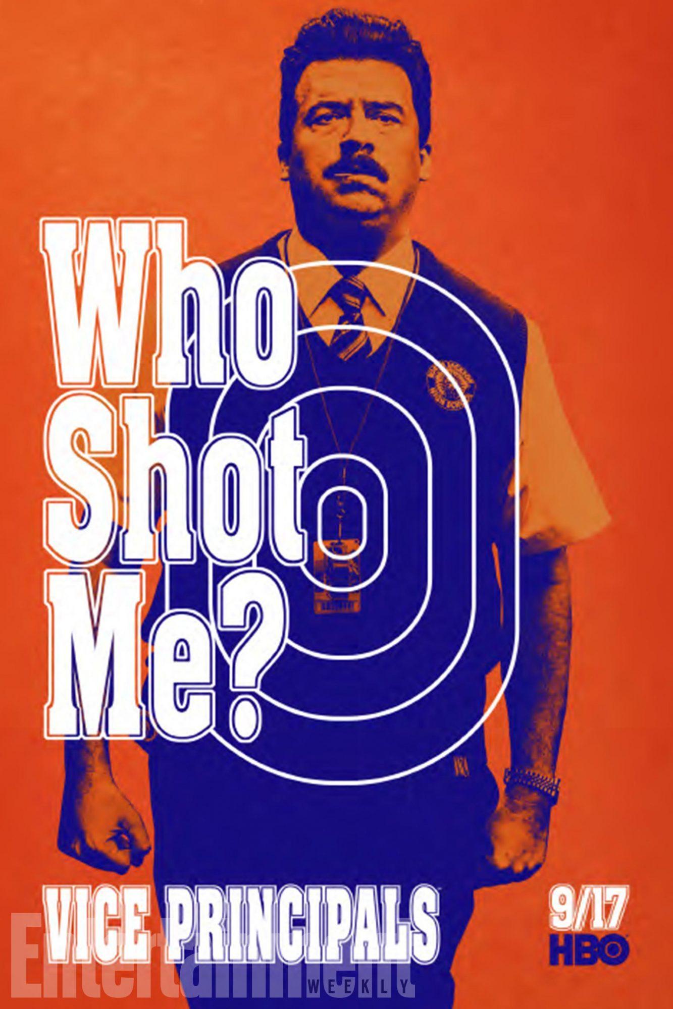 Who Shot Me? Vice Principals Poster 2017 CR: HBO
