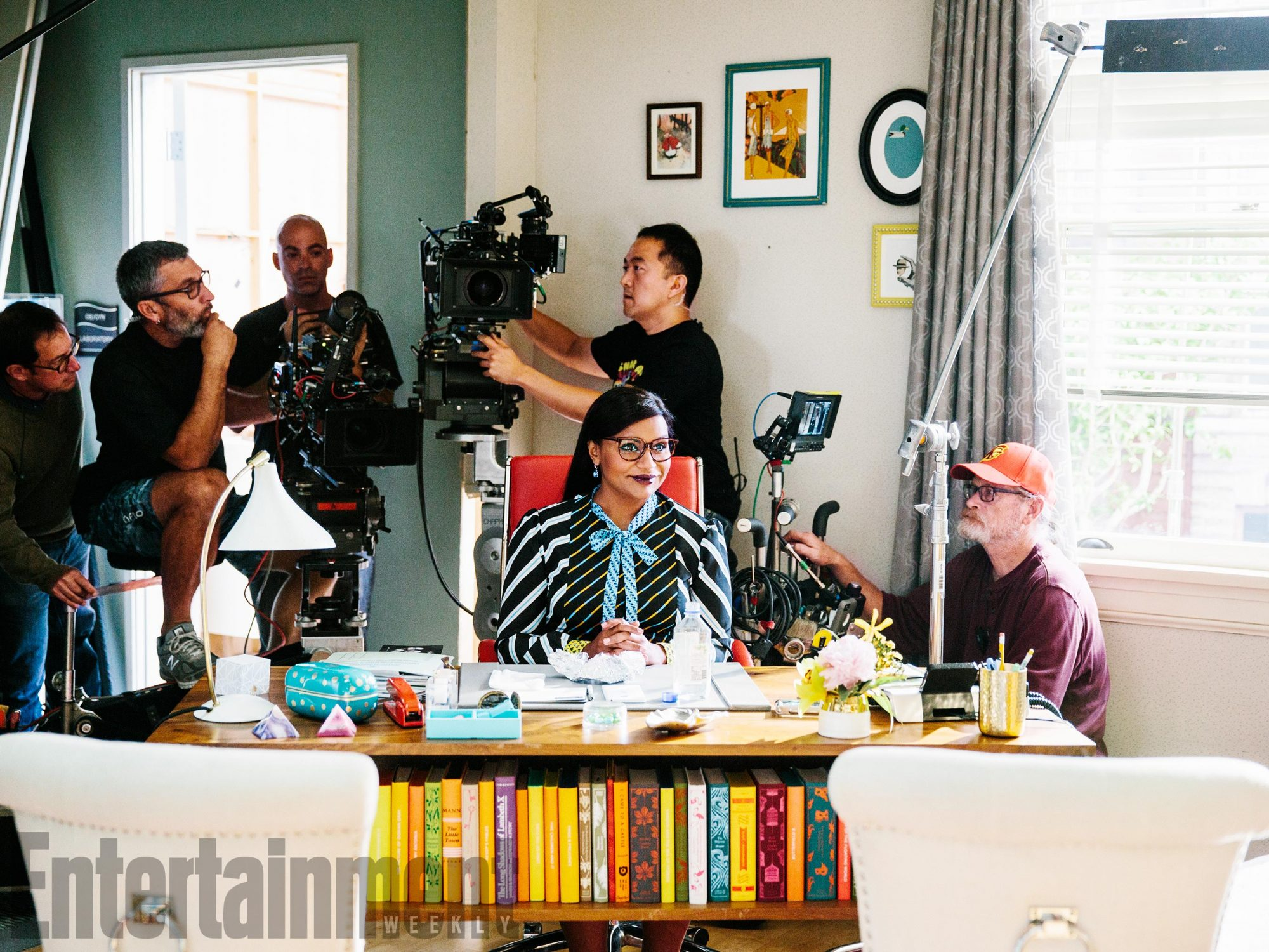 The Mindy Project Gets Back to Work