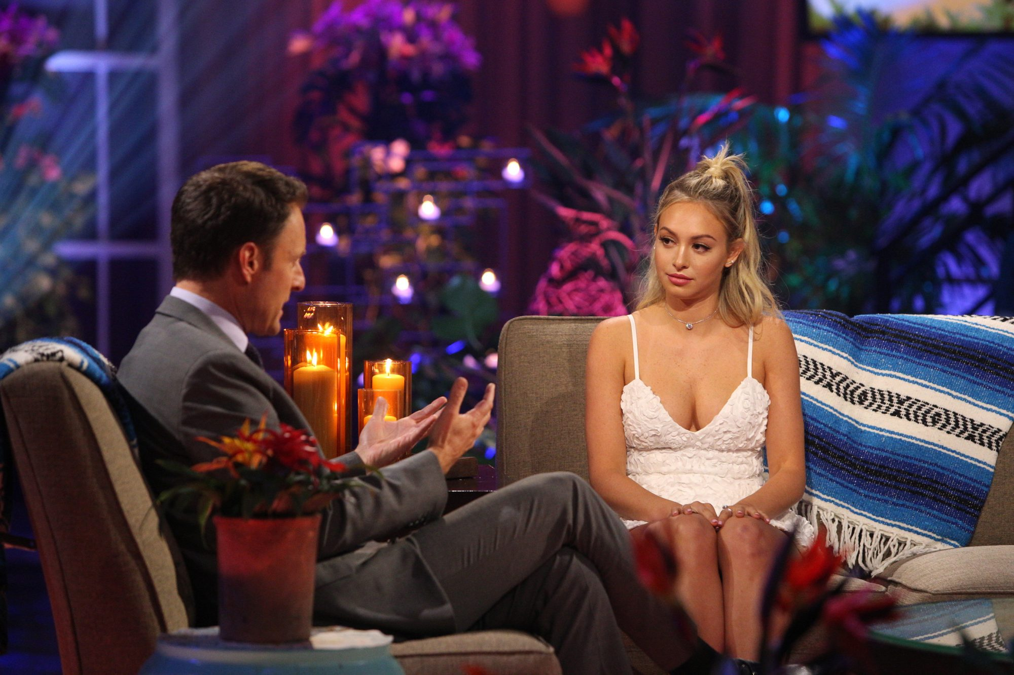 CHRIS HARRISON, CORINNE OLYMPIOS