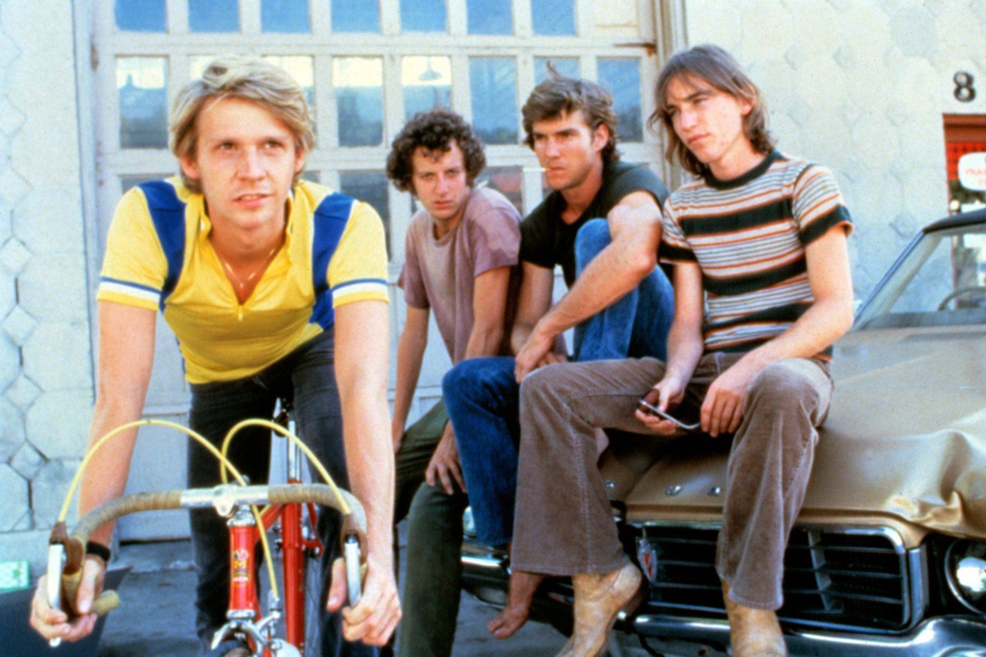 BREAKING AWAY, Dennis Christopher, Daniel Stern, Dennis Quaid, Jackie Earle Haley, 1979, TM & Copyri