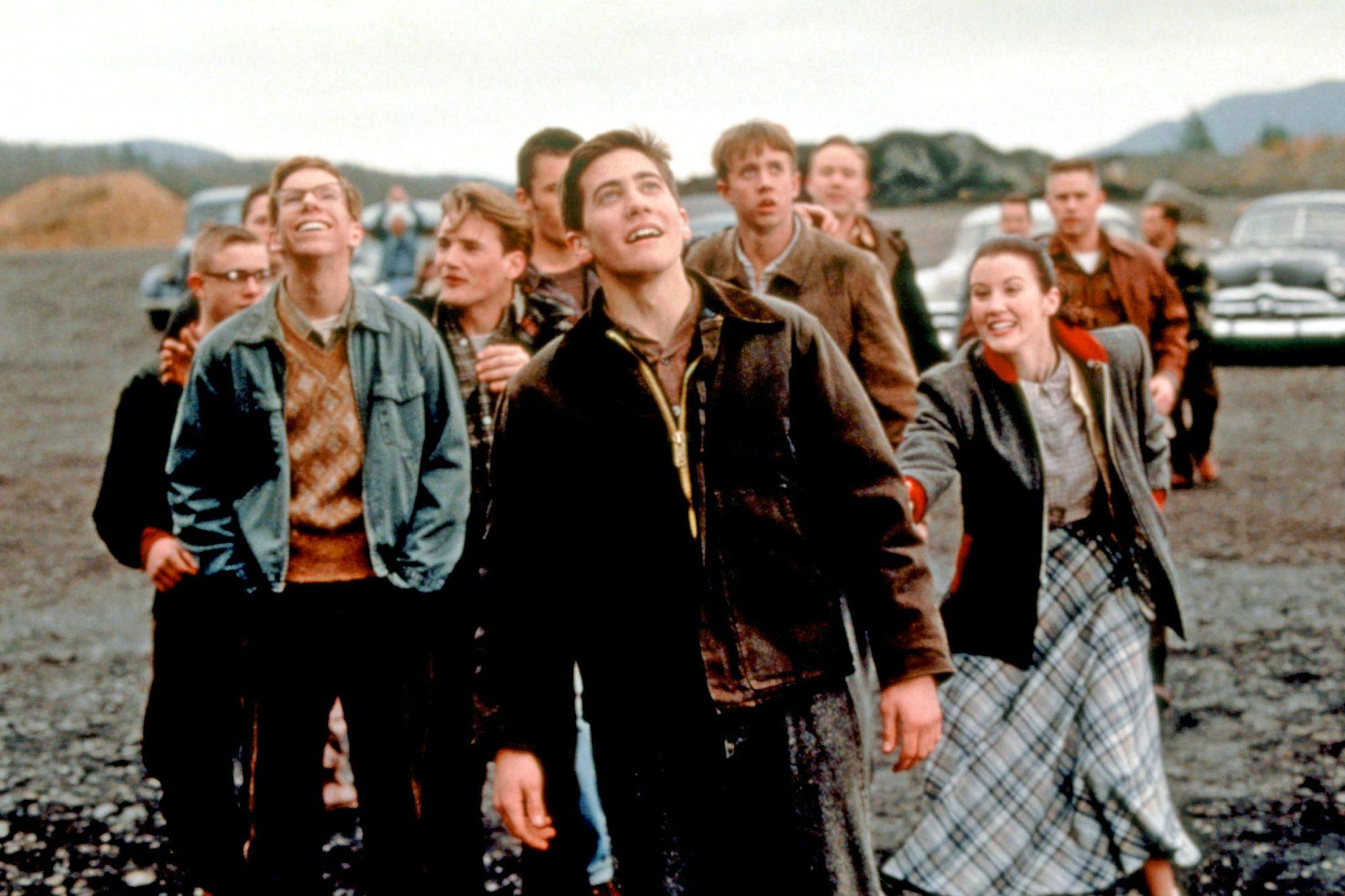 OCTOBER SKY, Chris Owen, William Lee Scott, Jake Gyllenhaal, Chad Lindberg,  1999, (c)MCA/courtesy E