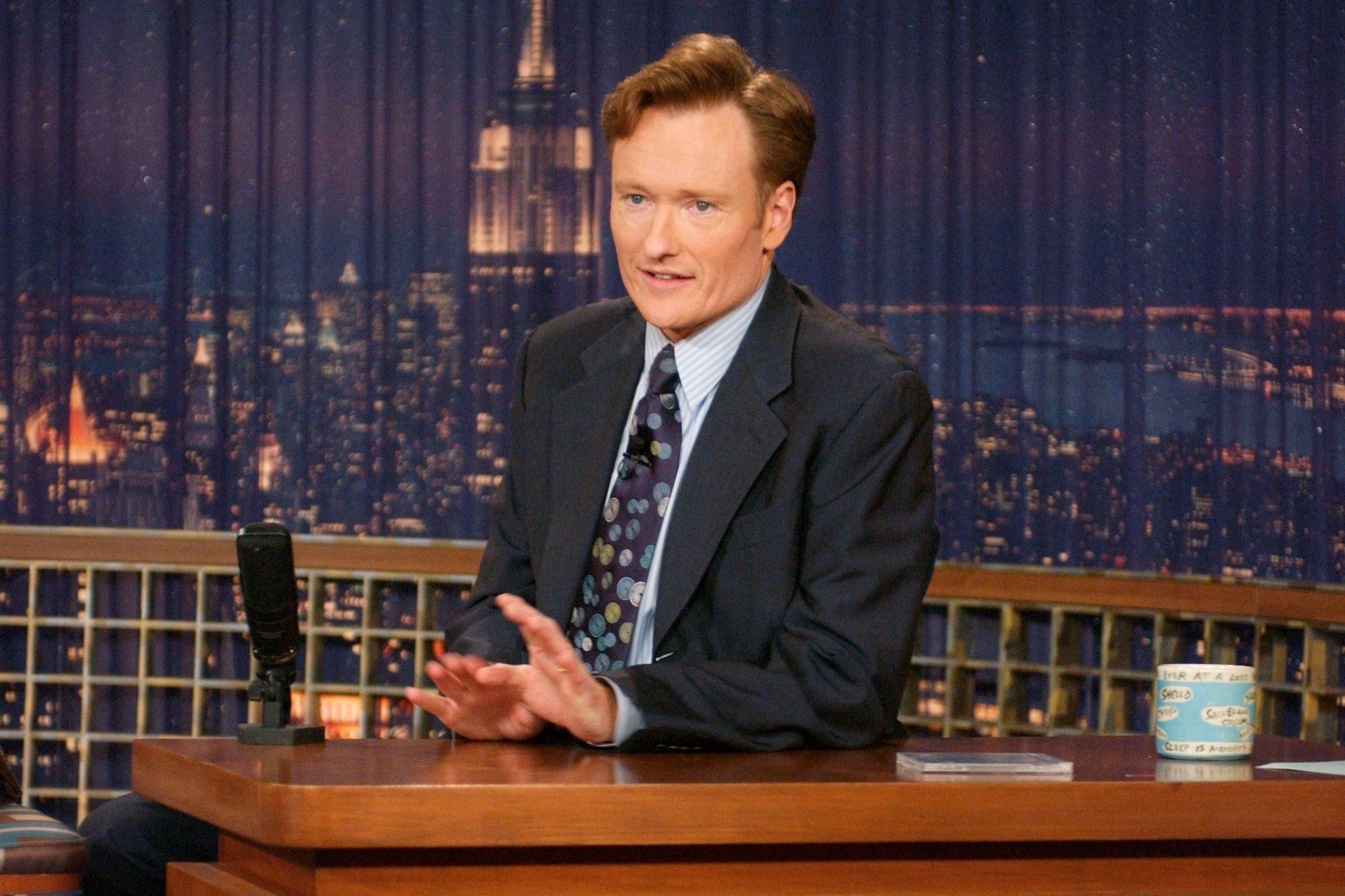 LATE NIGHT WITH CONAN O'BRIEN Conan O'Brien