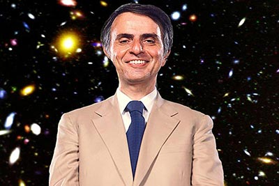 Carl Sagan Portrait