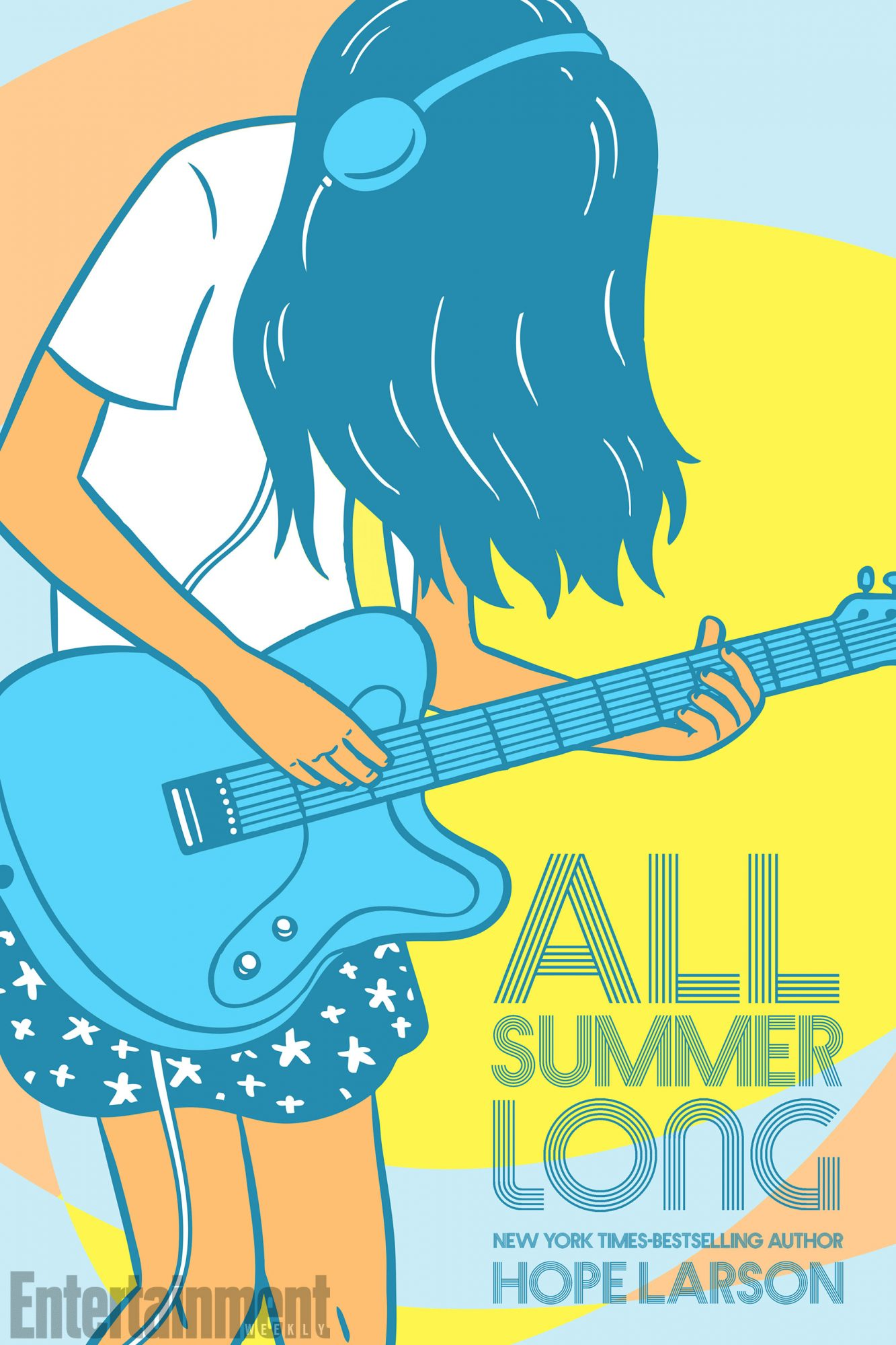 June 26, 2018                       All Summer Long by Hope Larson