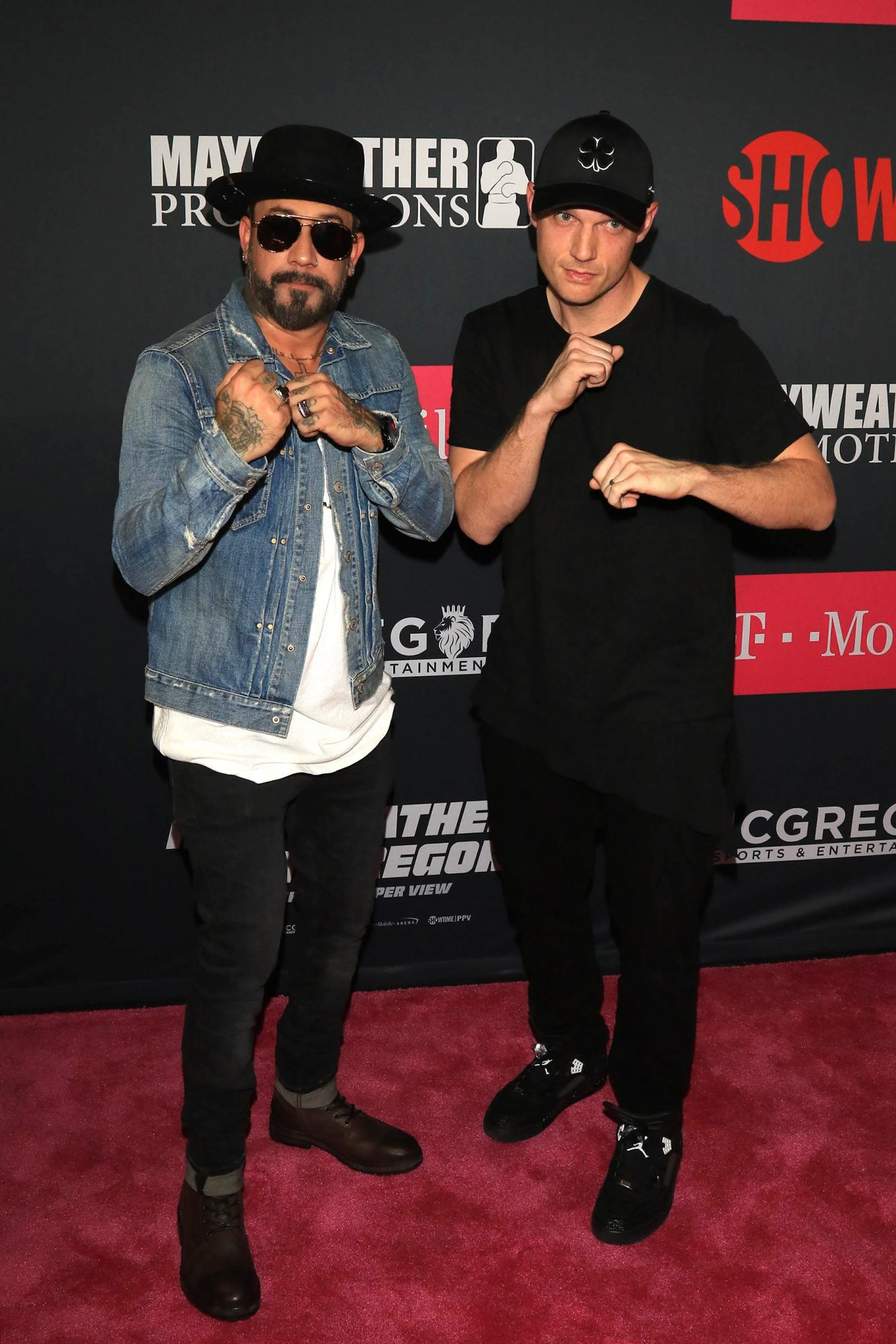 Arrivals at The Mayweather Vs. McGregor Fight