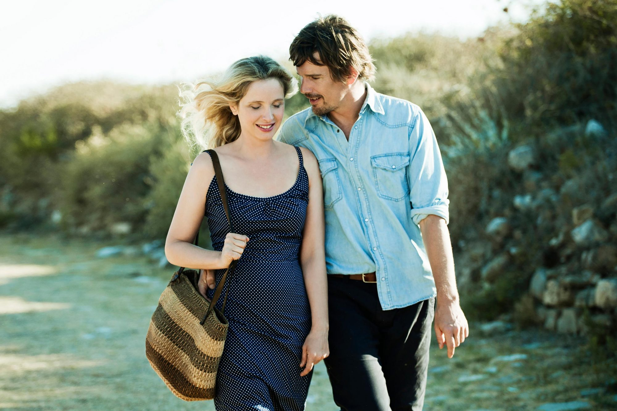 Before Midnight (2013)Julie Delpy as Celine and Ethan Hawke as Jesse