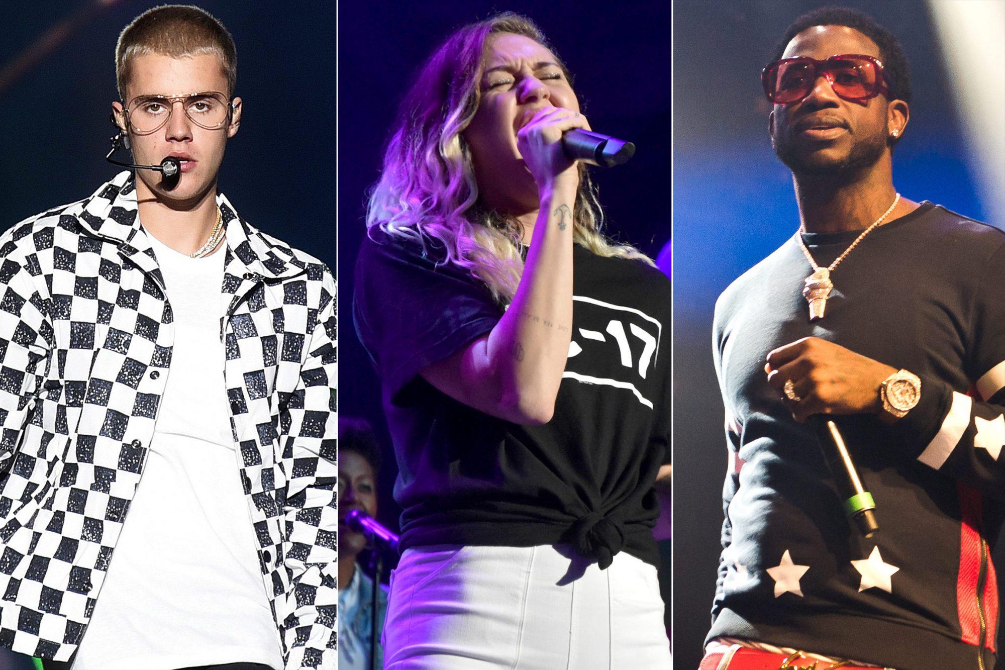 Justin Bieber/ Miley Cyrus/ Gucci Mane
