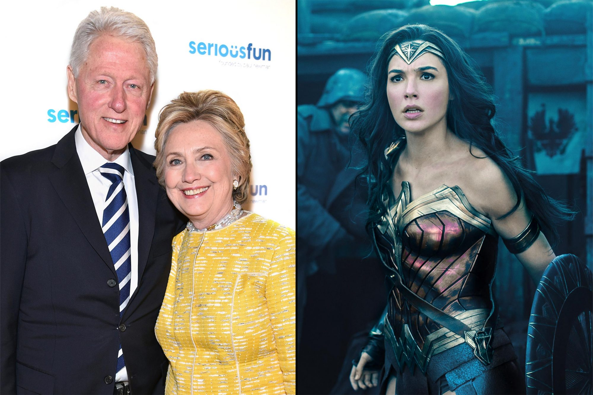 Bill-Hillary-Clinton-Wonder-Woman