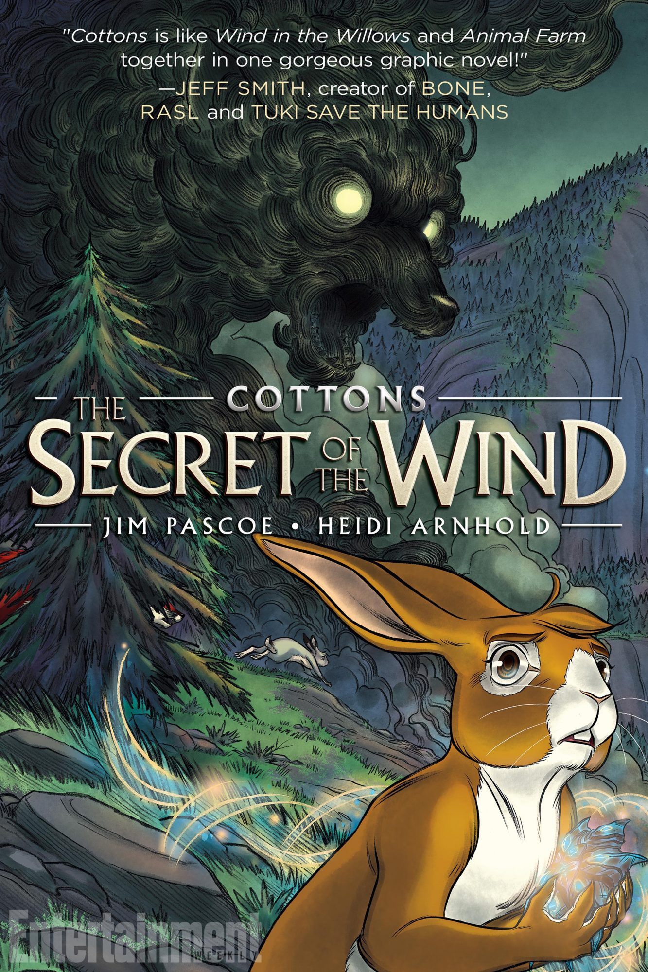 July 3, 2018                       Cottons: The Secret of the Wind, by Jim Pascoe and Heidi Arnhold