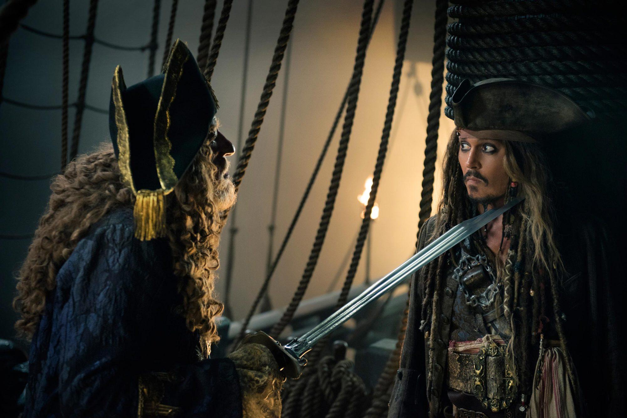 5. Captain Barbossa (Pirates of the Caribbean: Dead Men Tell No Tales)