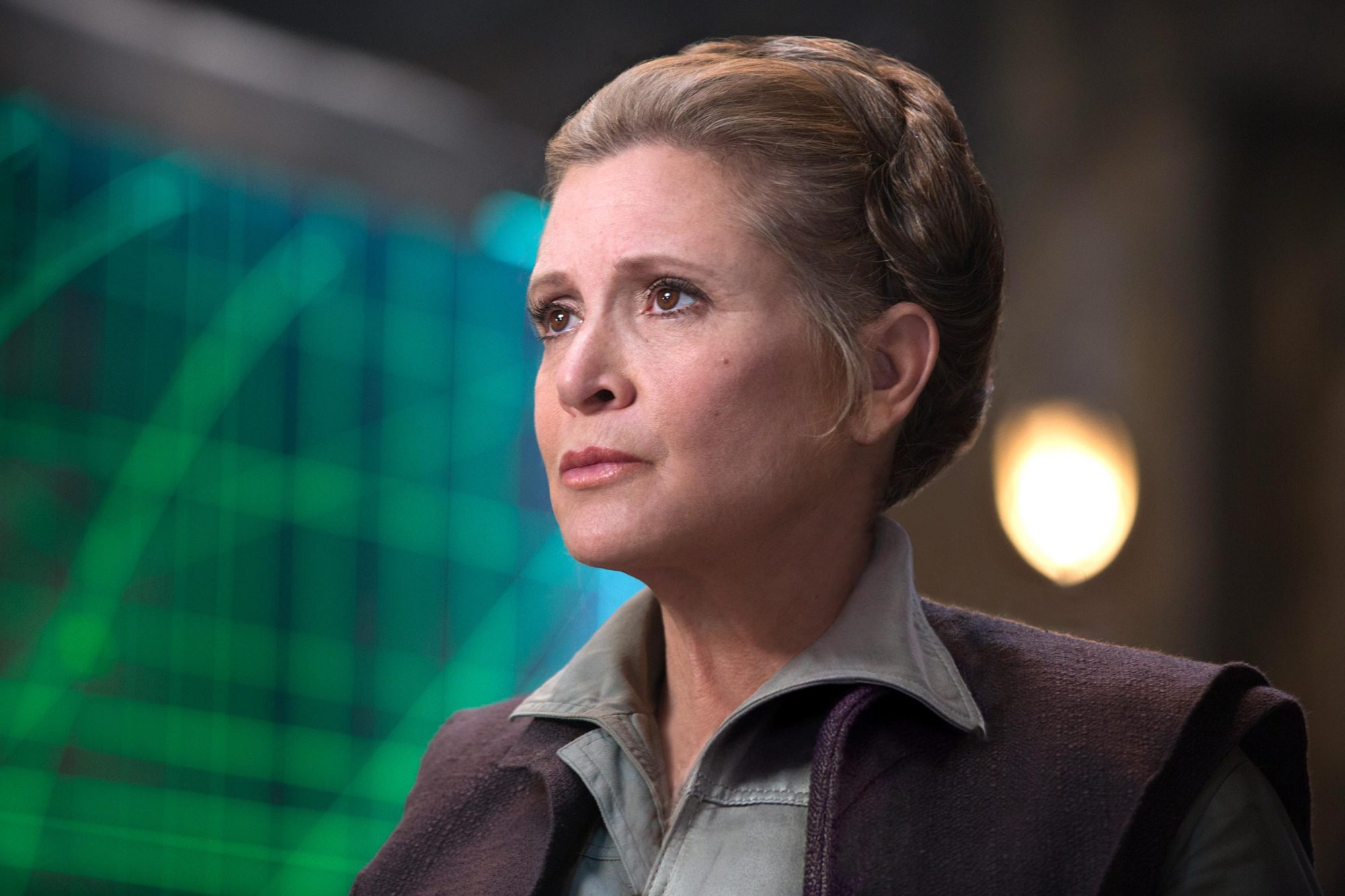 Star Wars: The Force Awakens (2015)Carrie Fisher as Leia
