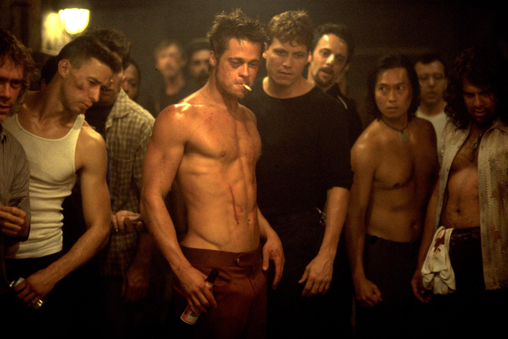 FIGHT CLUB (1999)Brad PittMerrick MortonFox