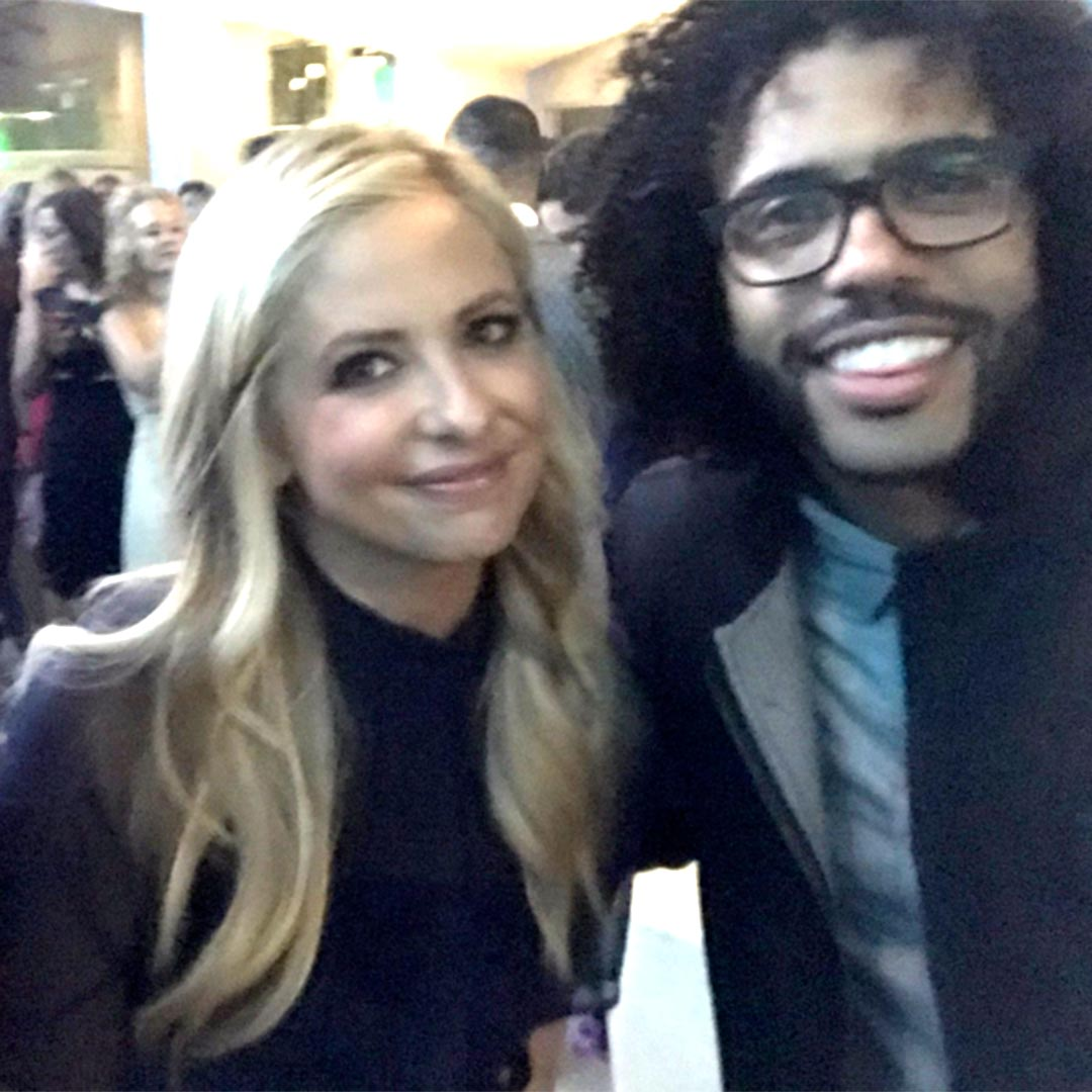 Sarah Michelle Gellar and Daveed Diggs