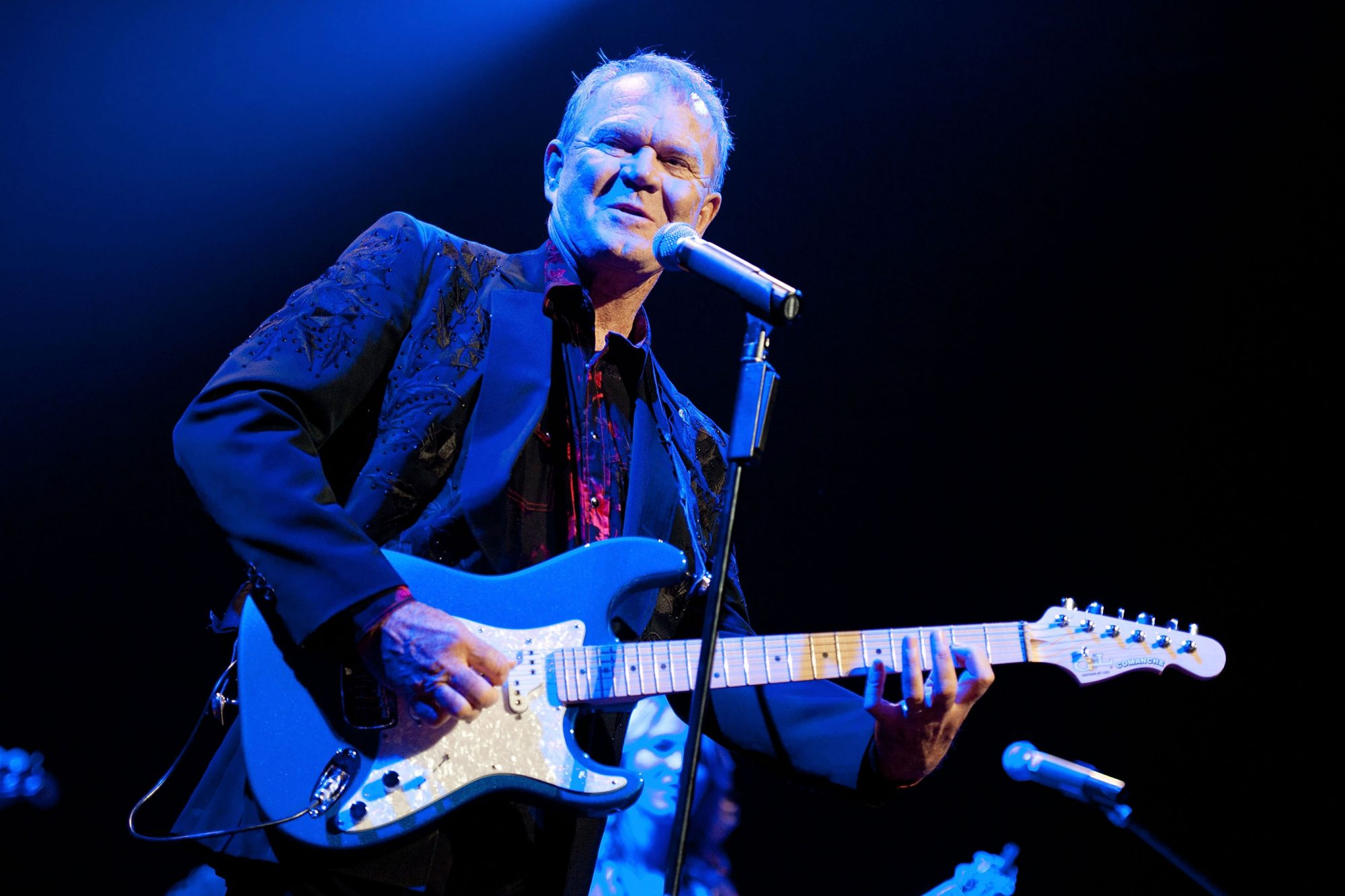 Glen Campbell And Instant People Perform At The Club Nokia