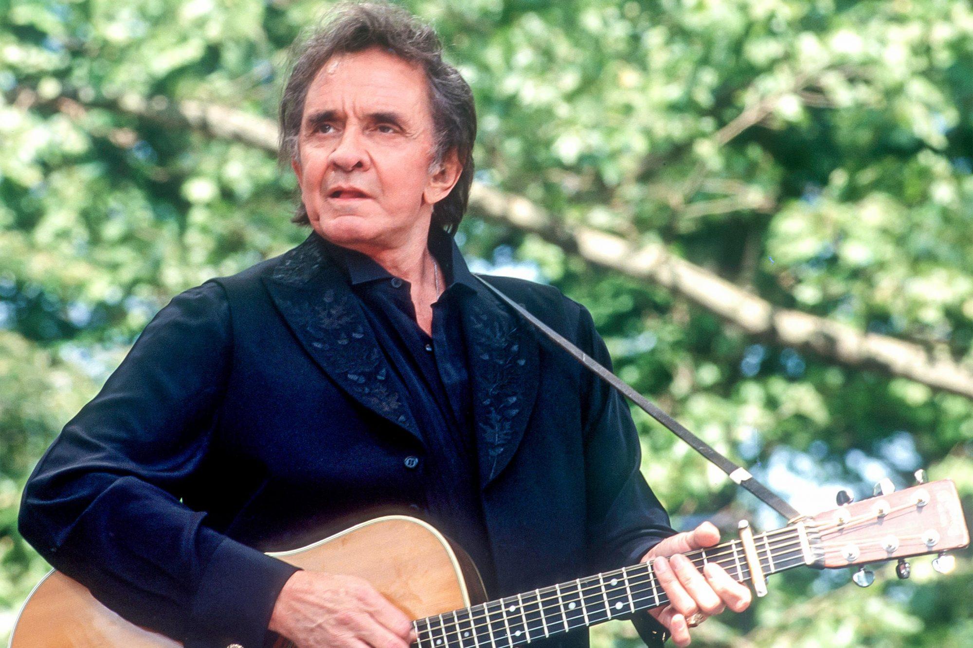 Johnny Cash At Harlem Meer