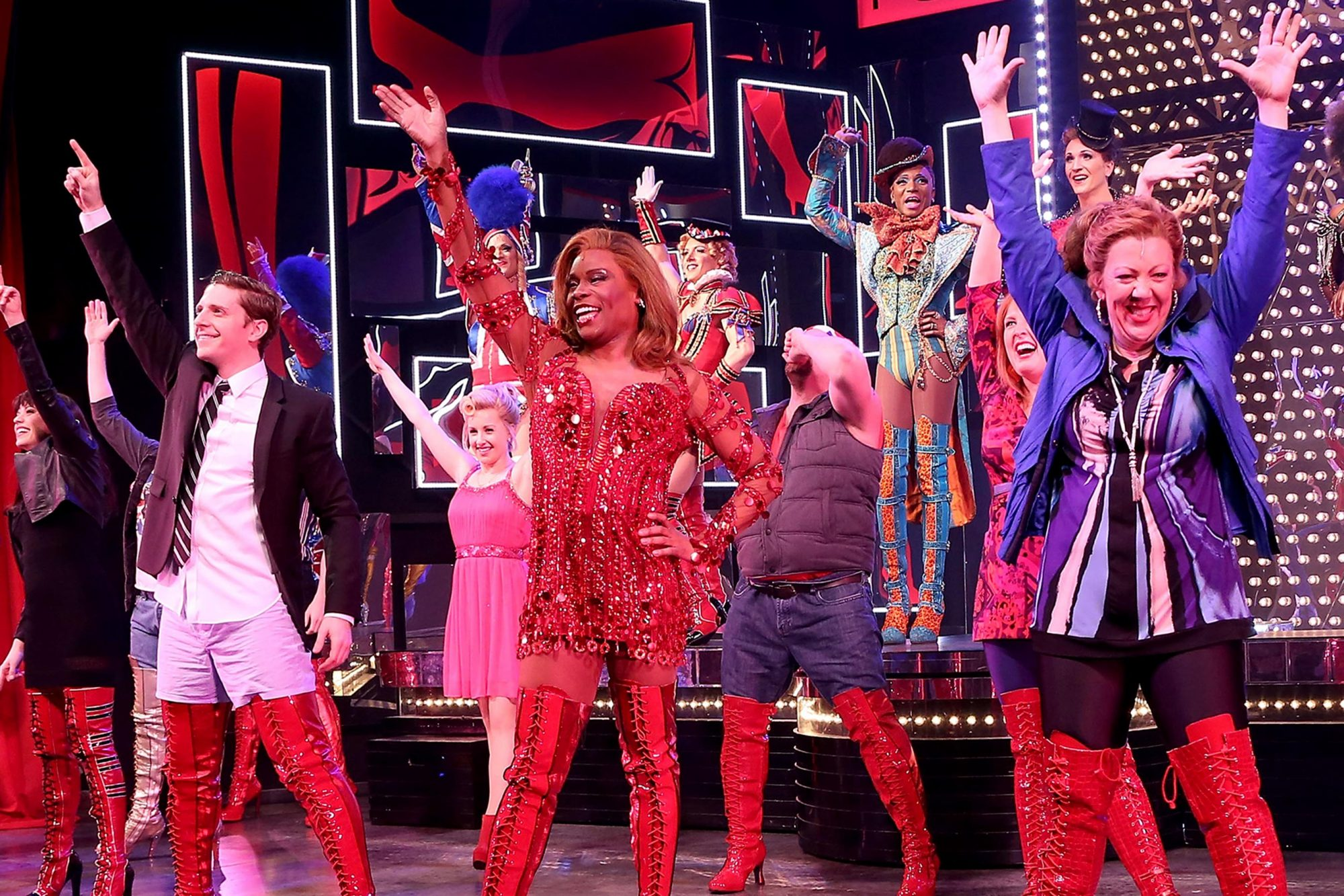 """Kinky Boots"" One Year On Broadway Celebration"