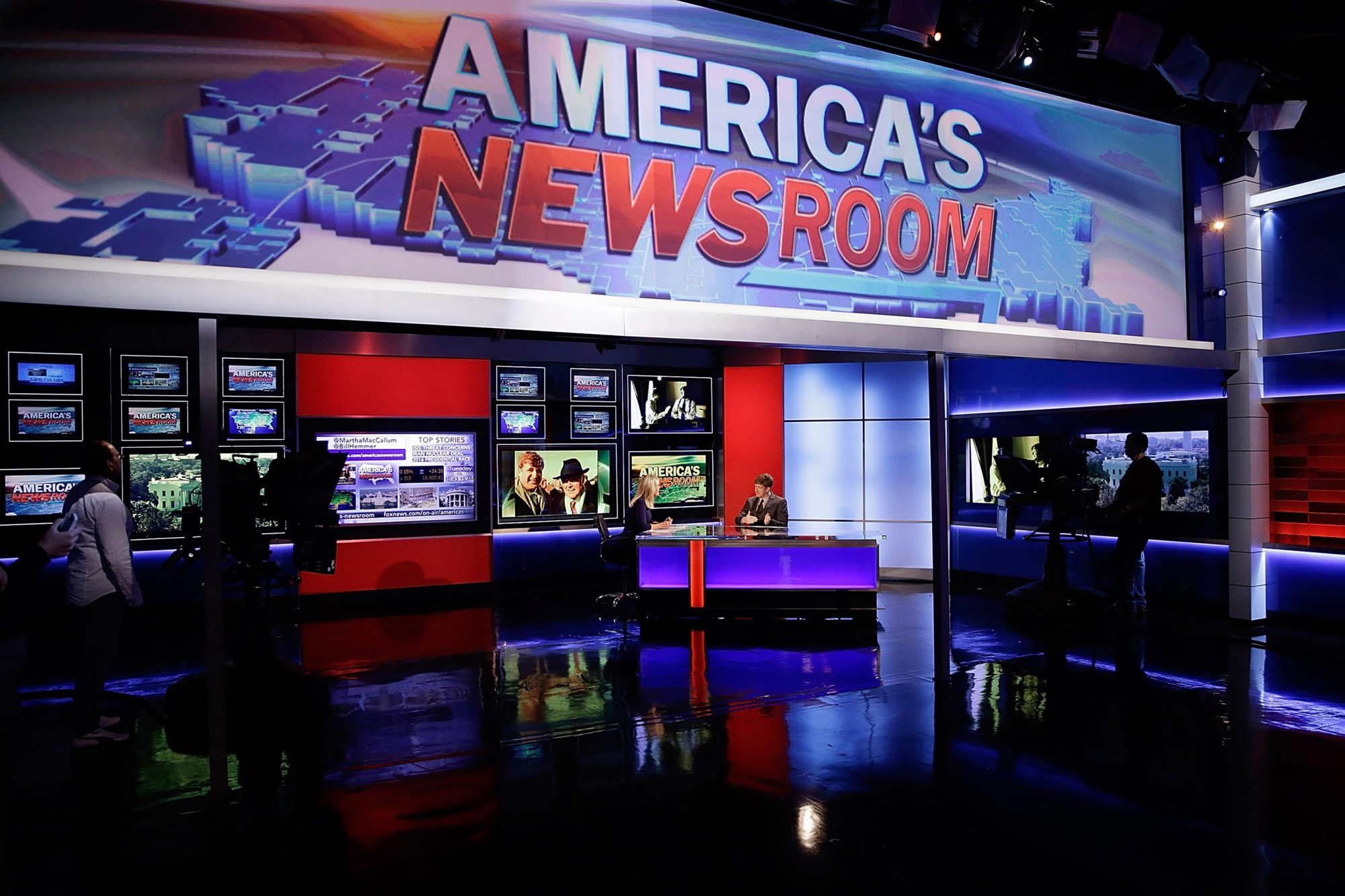"Patrick J. Kennedy Visits FOX News' ""America's Newsroom"""