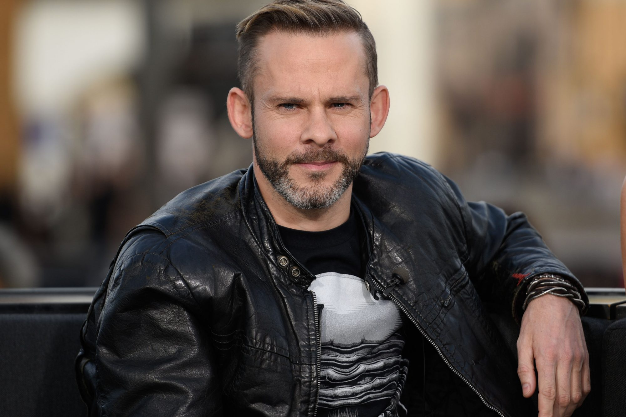 """Pauley Perrette And Dominic Monaghan On """"Extra"""""""