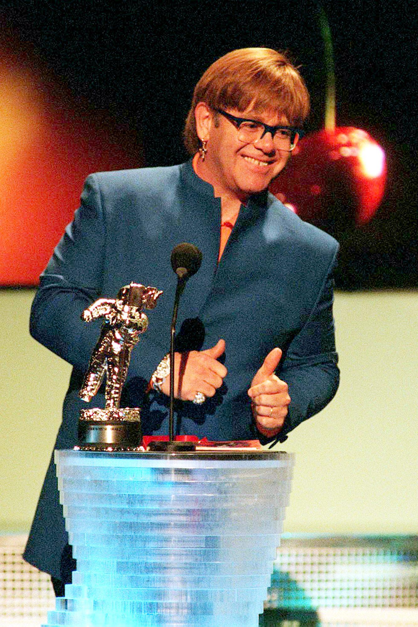 Elton John At MTV Awards 1997